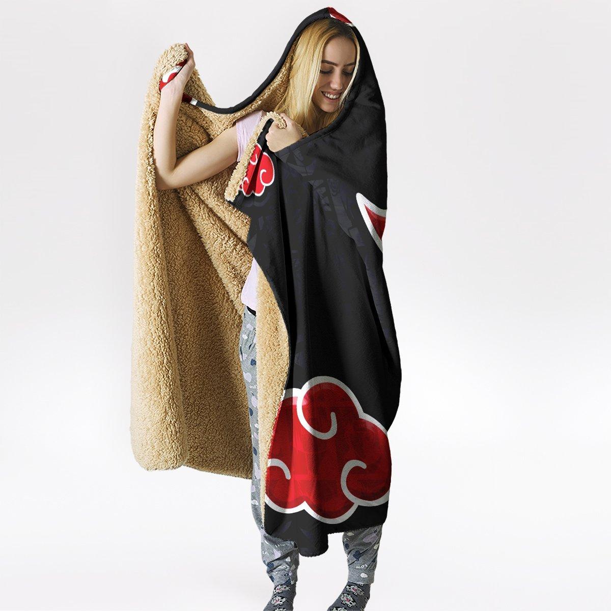 akatsuki gang hooded blanket 602199 - Otaku Treat