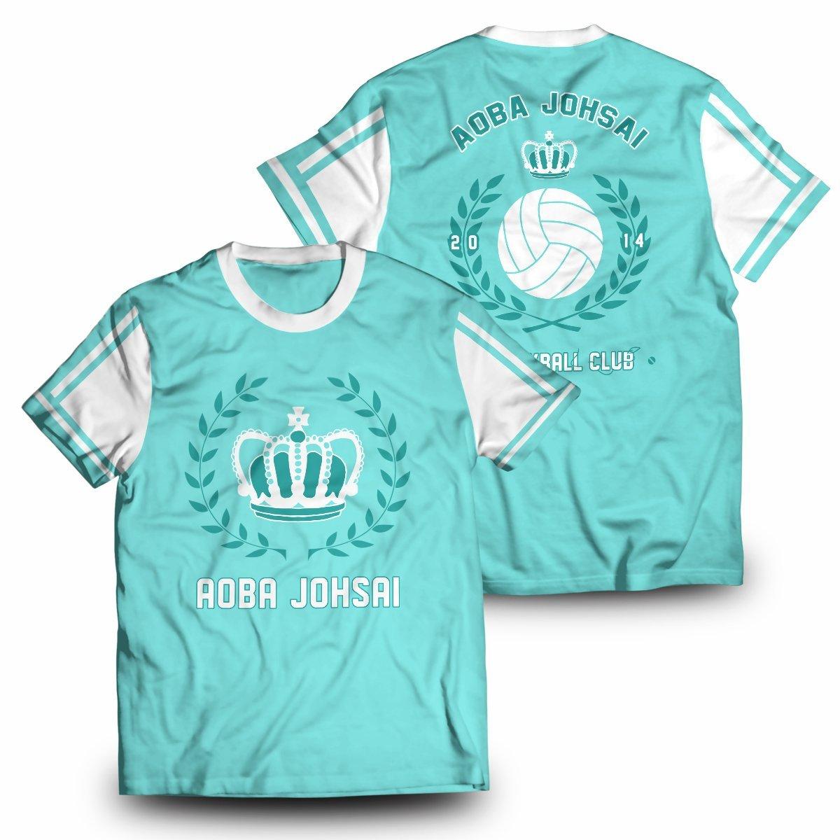 Aoba Johsai Jersey Unisex T-Shirt FDM2909 S Official Otaku Treat Merch