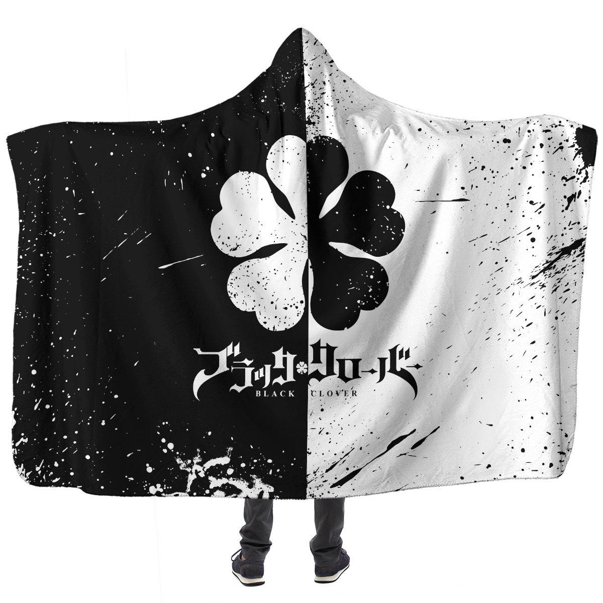 Five-Leaf Clover Hooded Blanket Official Merch FDM3009 Child Official Otaku Treat Merch