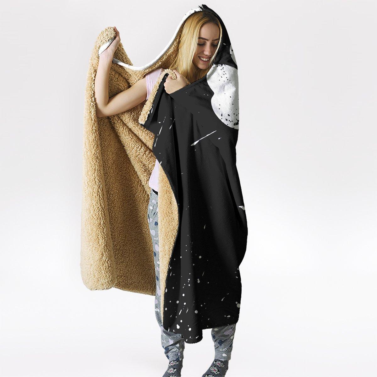 five leaf clover hooded blanket 935094 - Otaku Treat