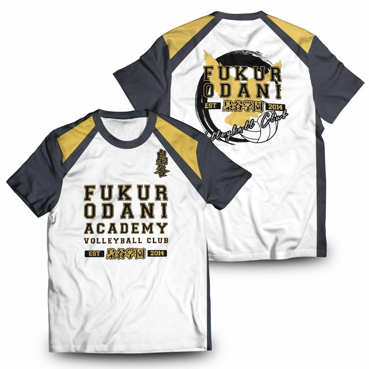 Fukurodani Jersey Unisex T-Shirt FDM2909 S Official Otaku Treat Merch