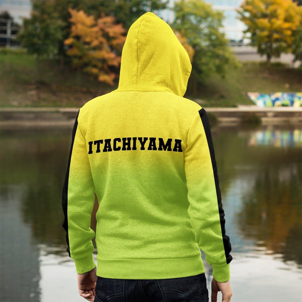 haikyuu itachiyama unisex zipped hoodie 548167 - Otaku Treat
