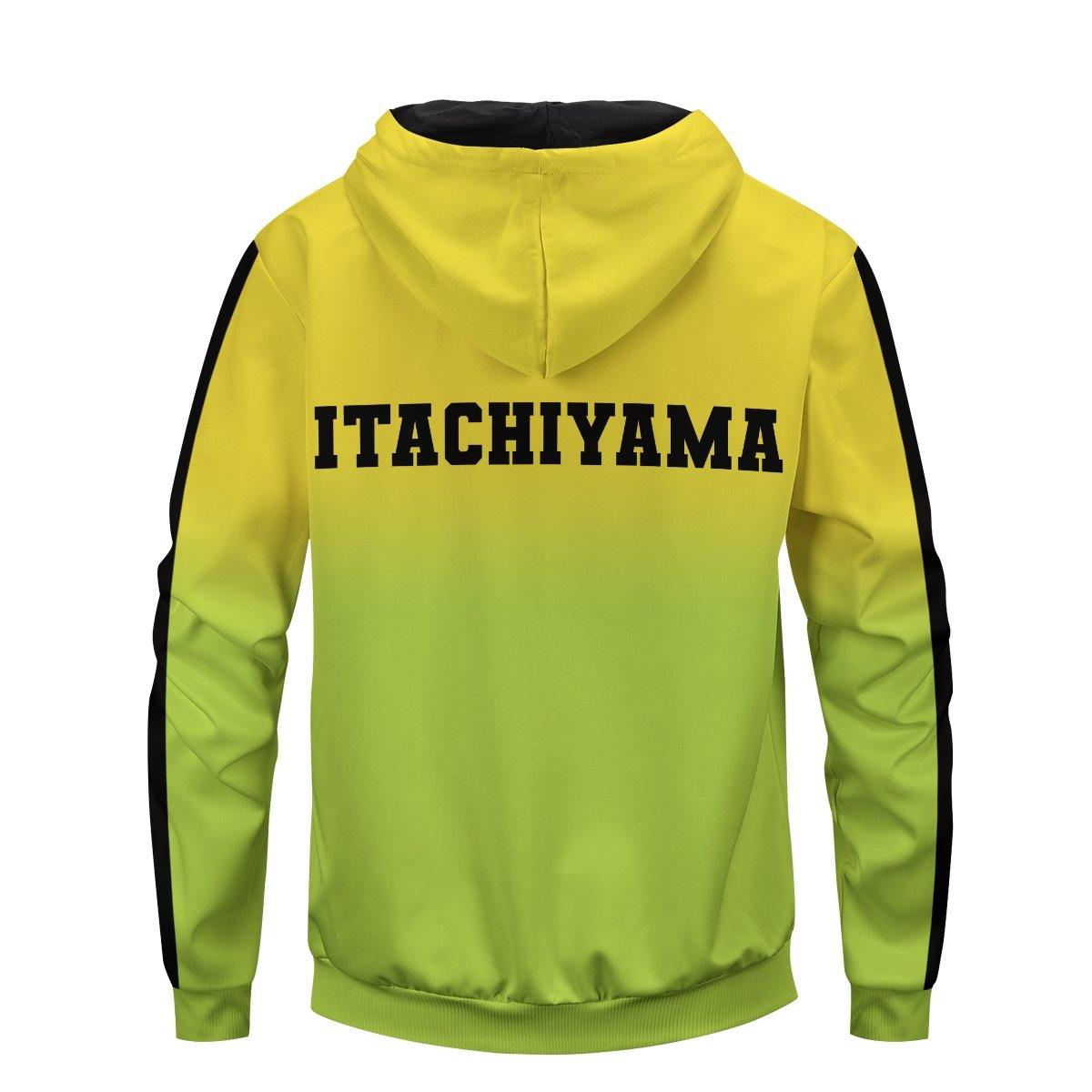 haikyuu itachiyama unisex zipped hoodie 678255 - Otaku Treat