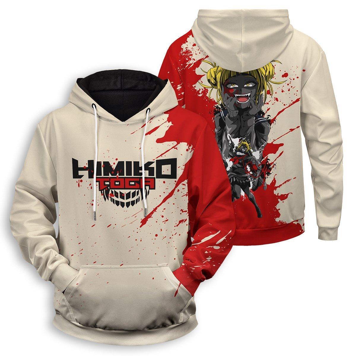 Himiko Spirit Unisex Pullover Hoodie FDM3009 S Official Otaku Treat Merch