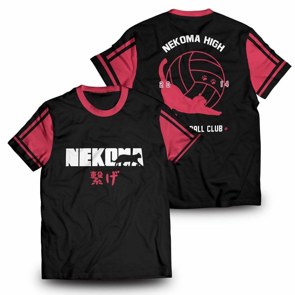 Nekoma Jersey Unisex T-Shirt FDM2909 S Official Otaku Treat Merch