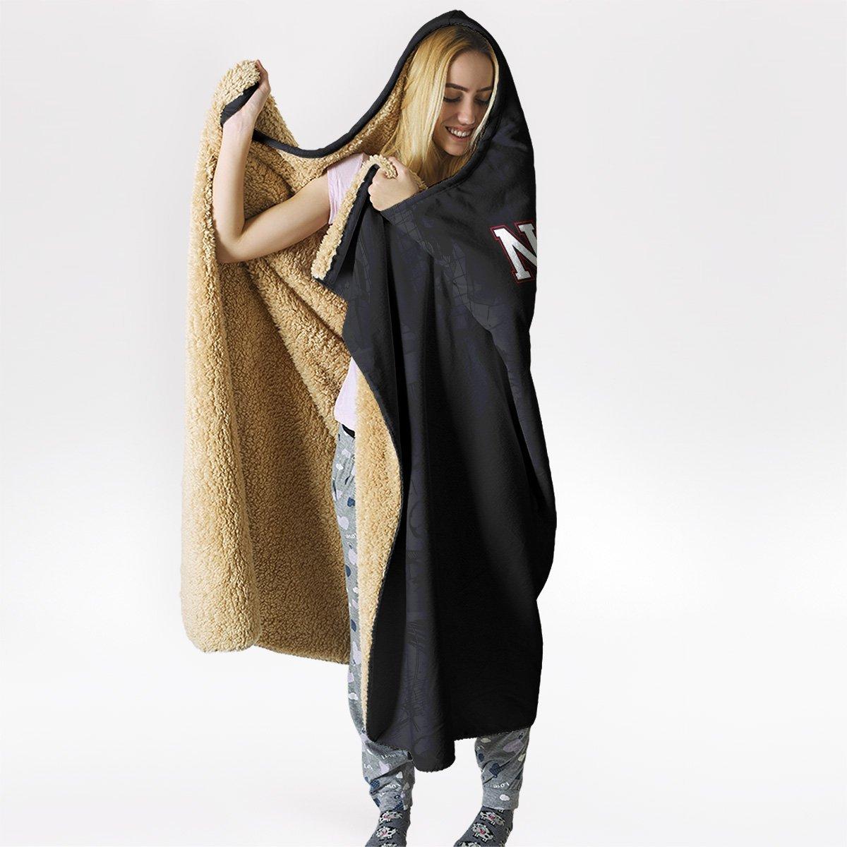 nekoma volleyball club hooded blanket 830535 - Otaku Treat
