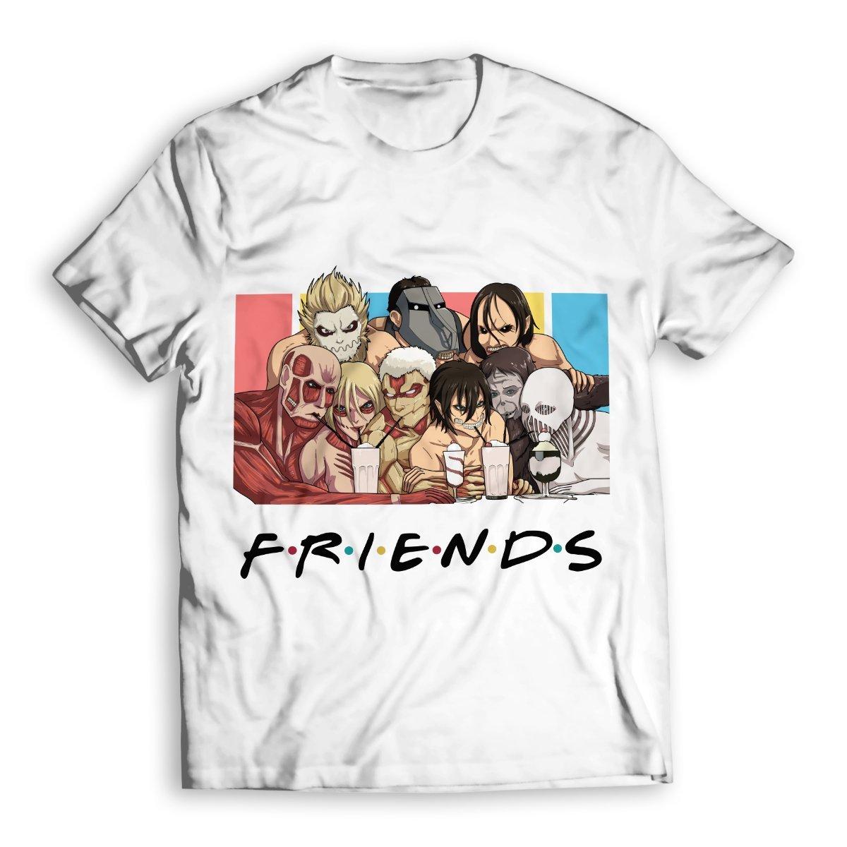 Nine Titans Friends Unisex T-Shirt FDM2909 S Official Otaku Treat Merch