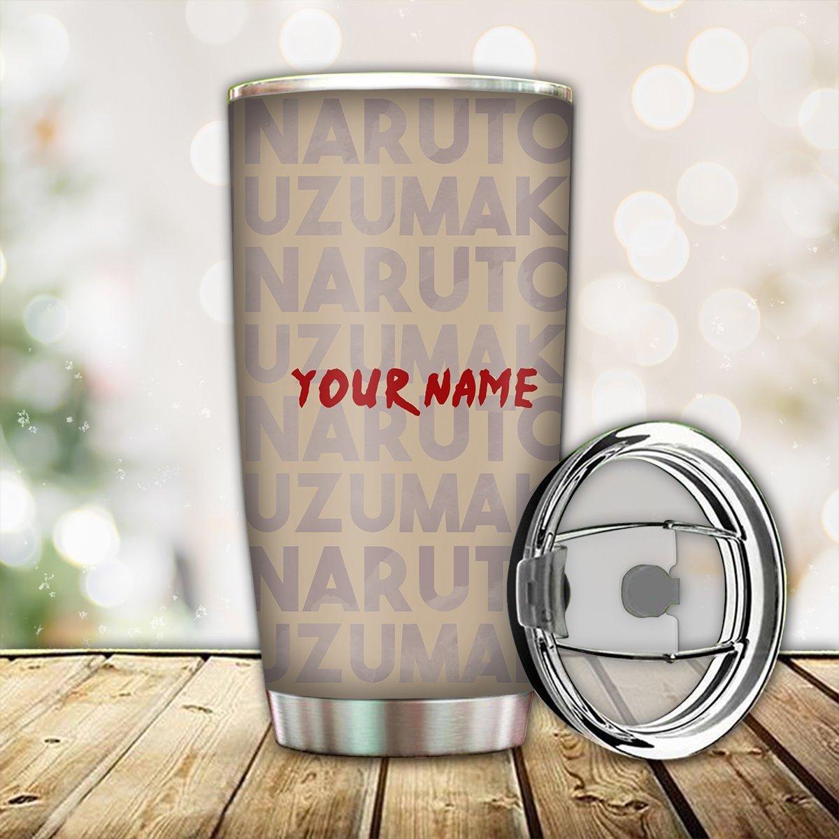 personalized chibi naruto tumbler 140823 - Otaku Treat