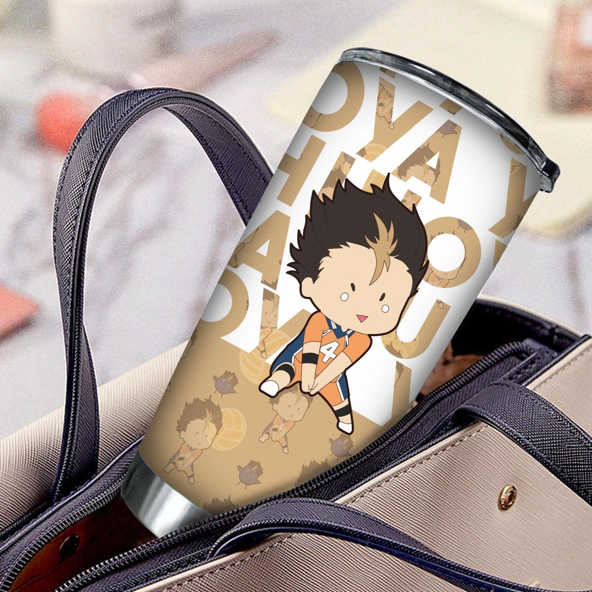 personalized chibi nishinoya tumbler 446326 - Otaku Treat