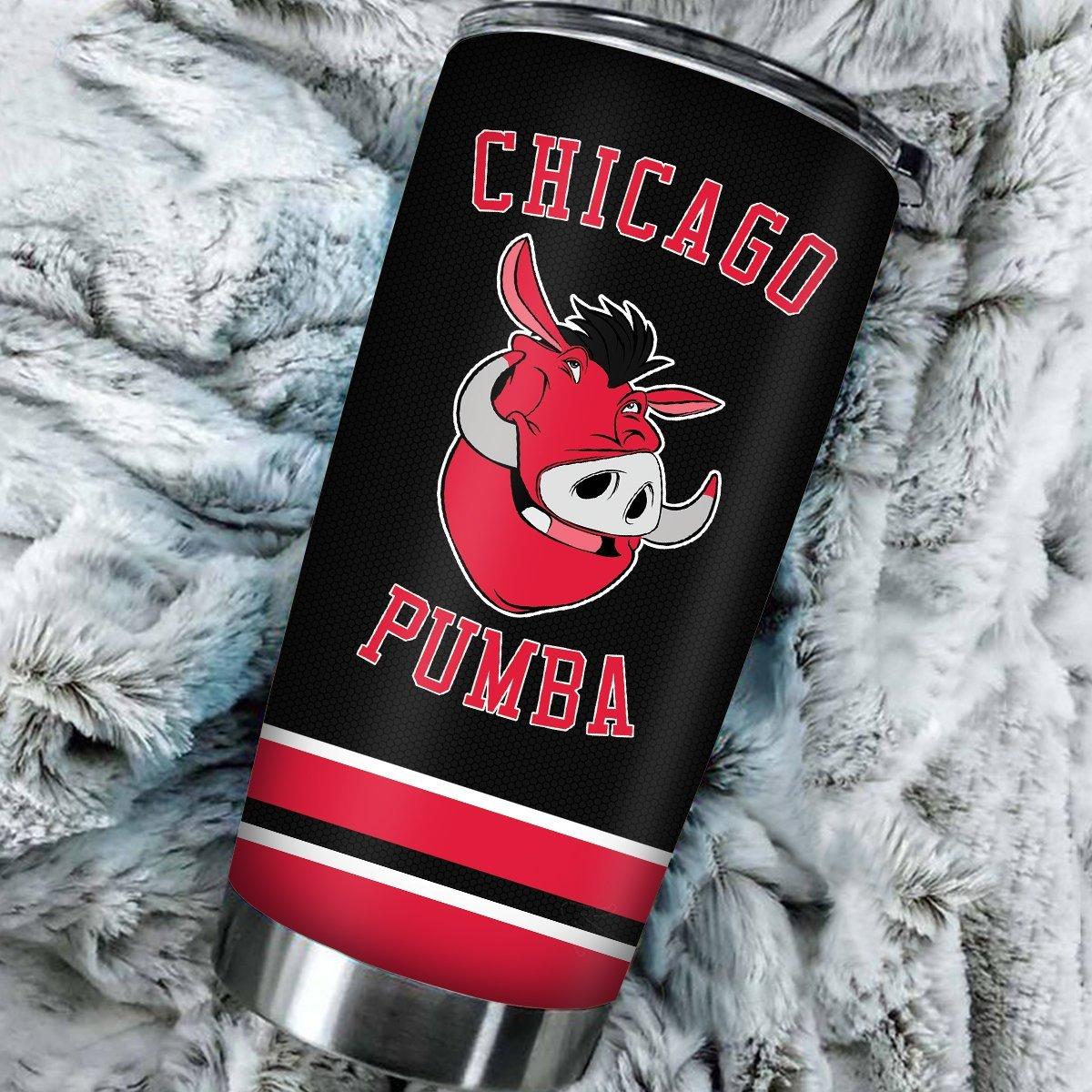 personalized chicago pumba tumbler 846304 - Otaku Treat