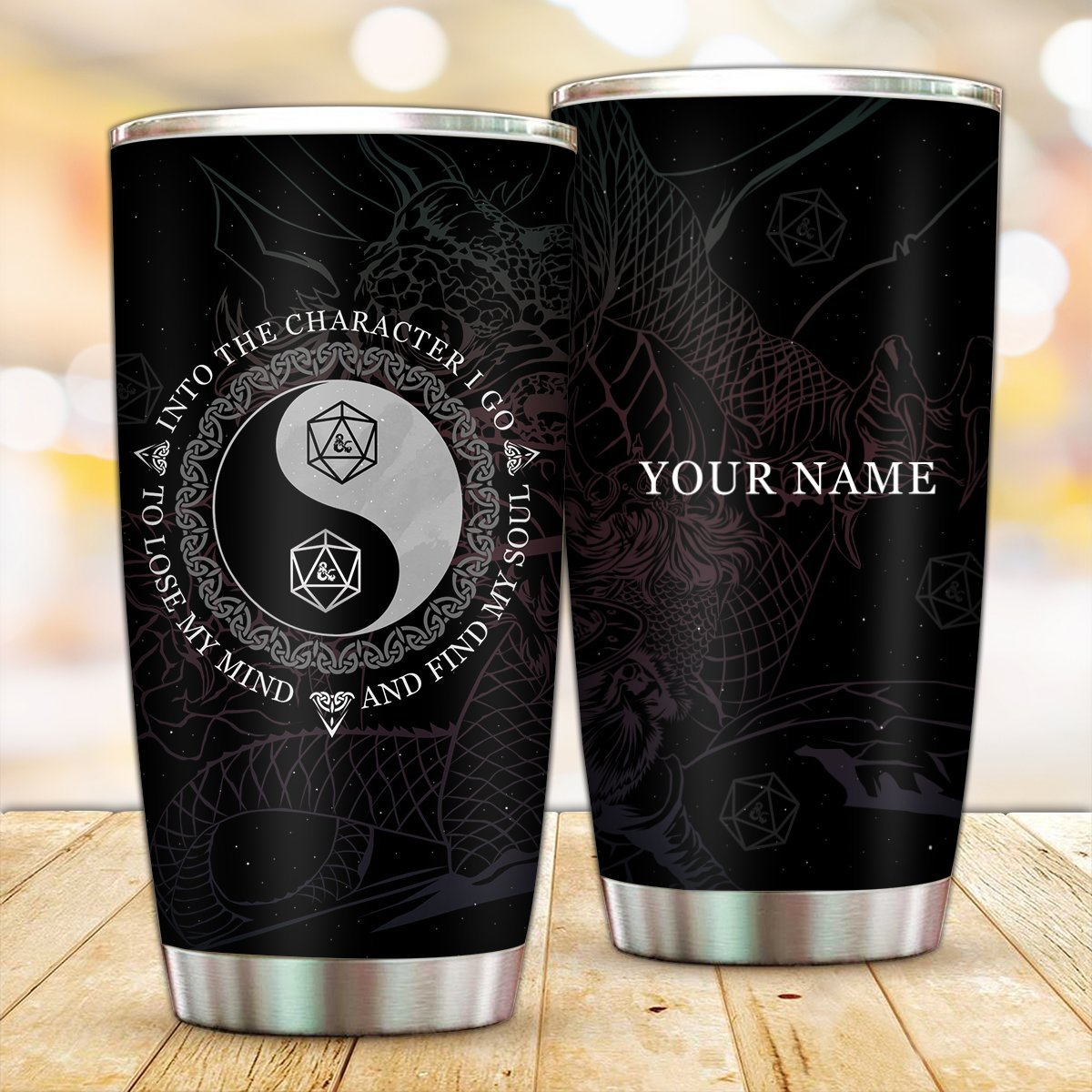 Personalized Into The Dungeons Tumbler FDM3009 Default Title Official Otaku Treat Merch