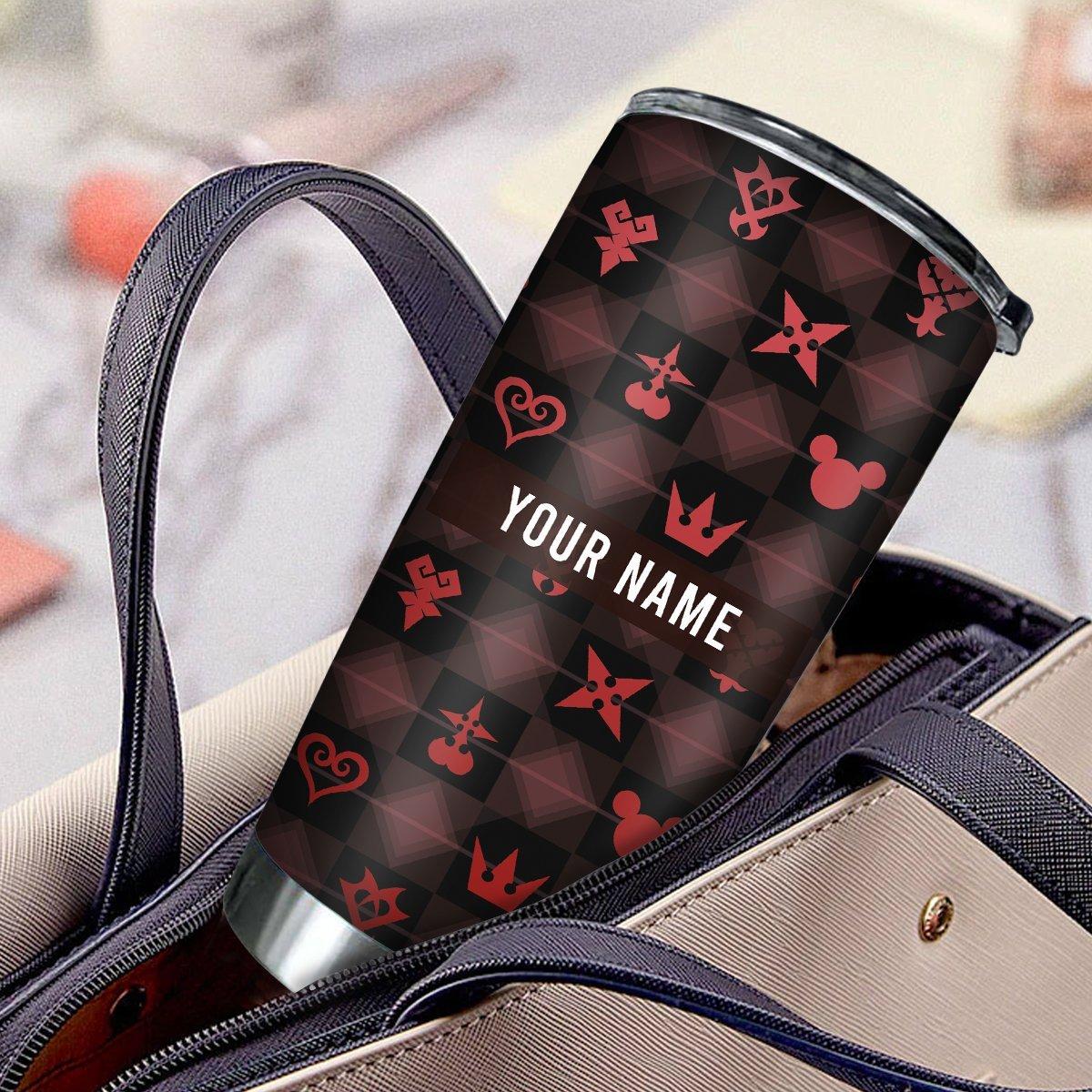 personalized khearts pattern tumbler 235075 - Otaku Treat