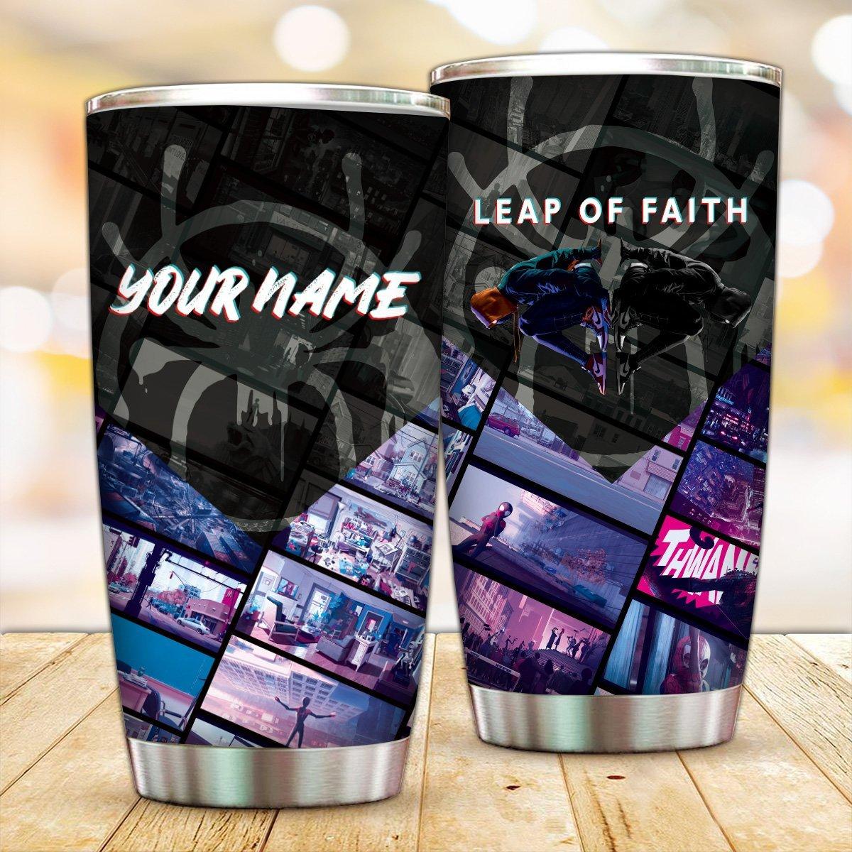 Personalized Leap Of Faith Tumbler FDM3009 Default Title Official Otaku Treat Merch