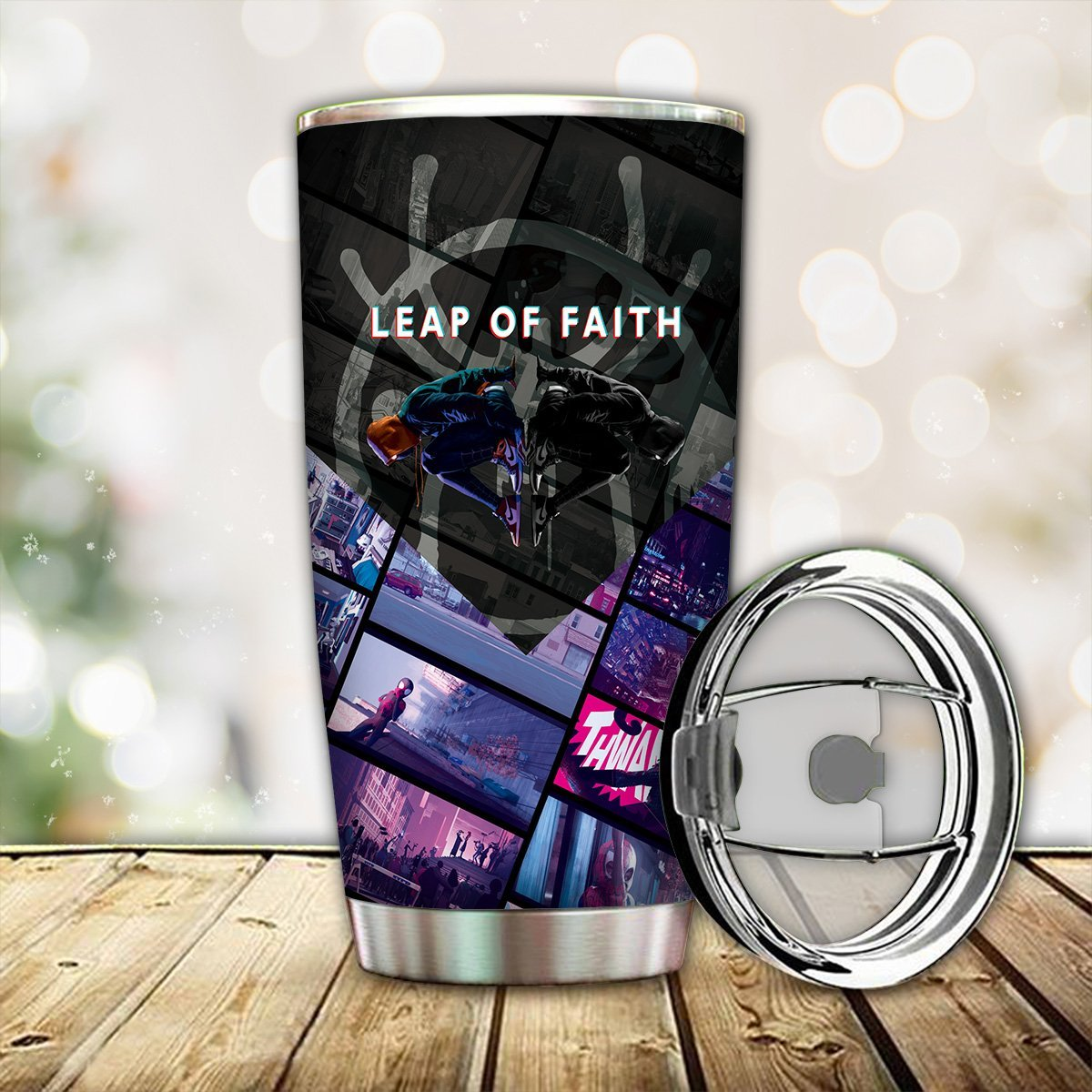 personalized leap of faith tumbler 765428 - Otaku Treat