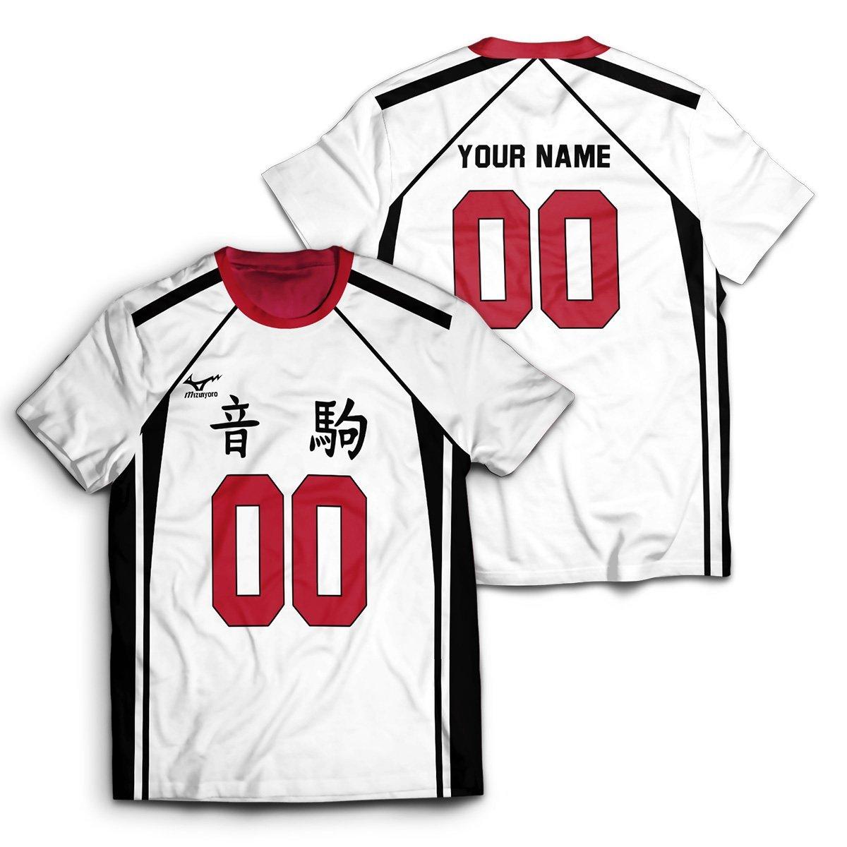 Personalized Nekoma Libero Unisex T-Shirt FDM2909 S Official Otaku Treat Merch