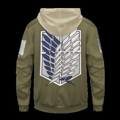 personalized new survey corps uniform unisex pullover hoodie 264405 - Otaku Treat