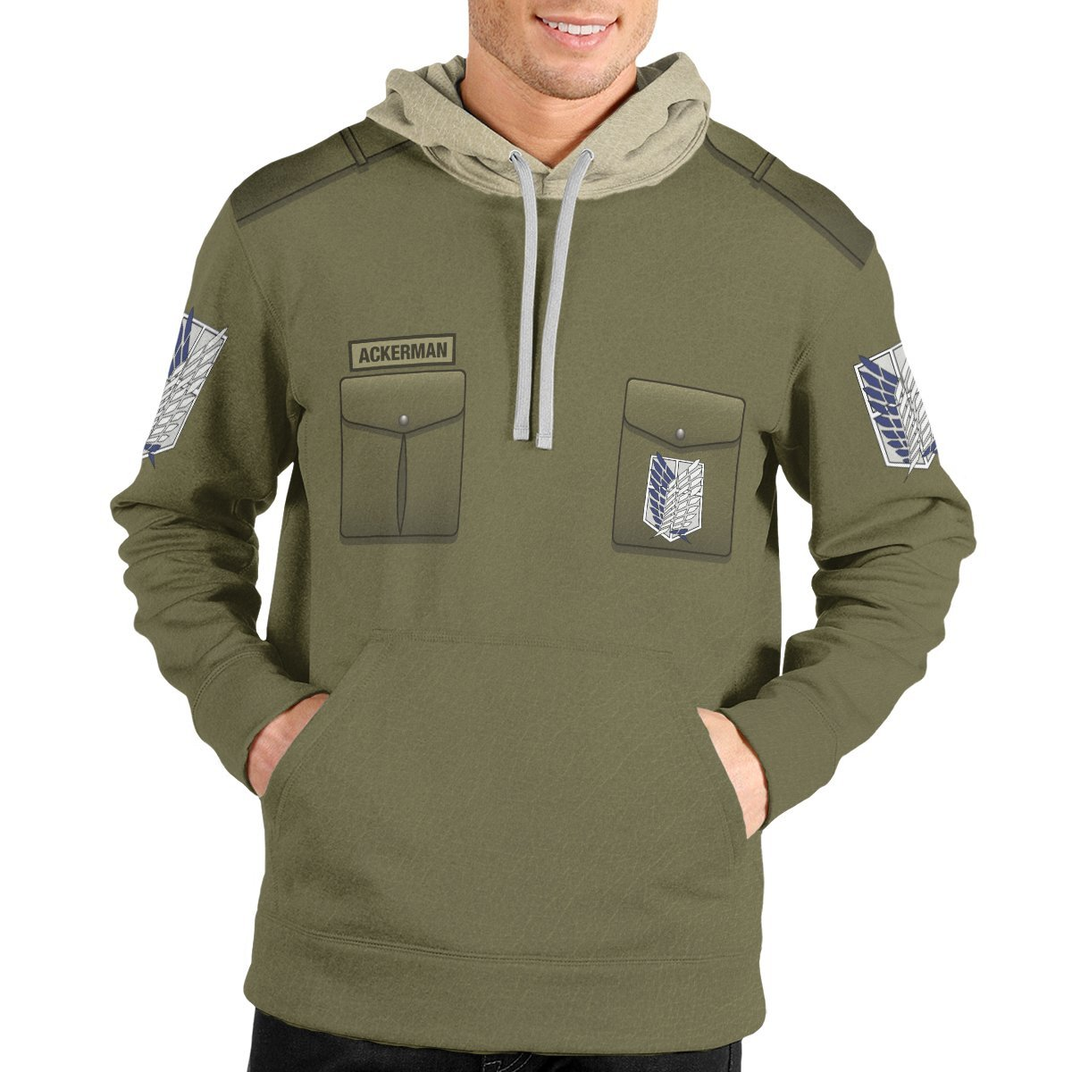 personalized new survey corps uniform unisex pullover hoodie 744494 - Otaku Treat