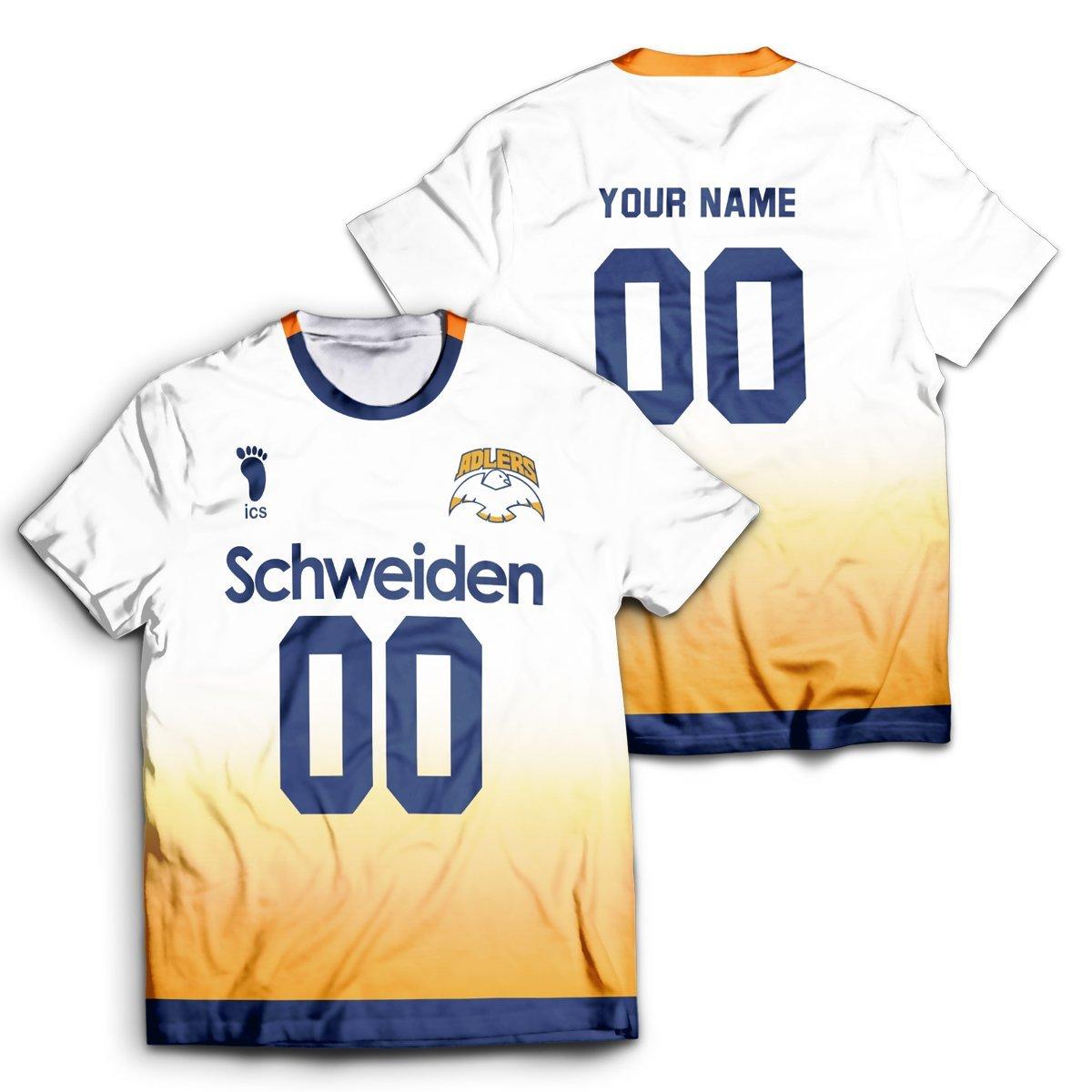 Personalized Schweiden Adlers Unisex T-Shirt FDM2909 S Official Otaku Treat Merch