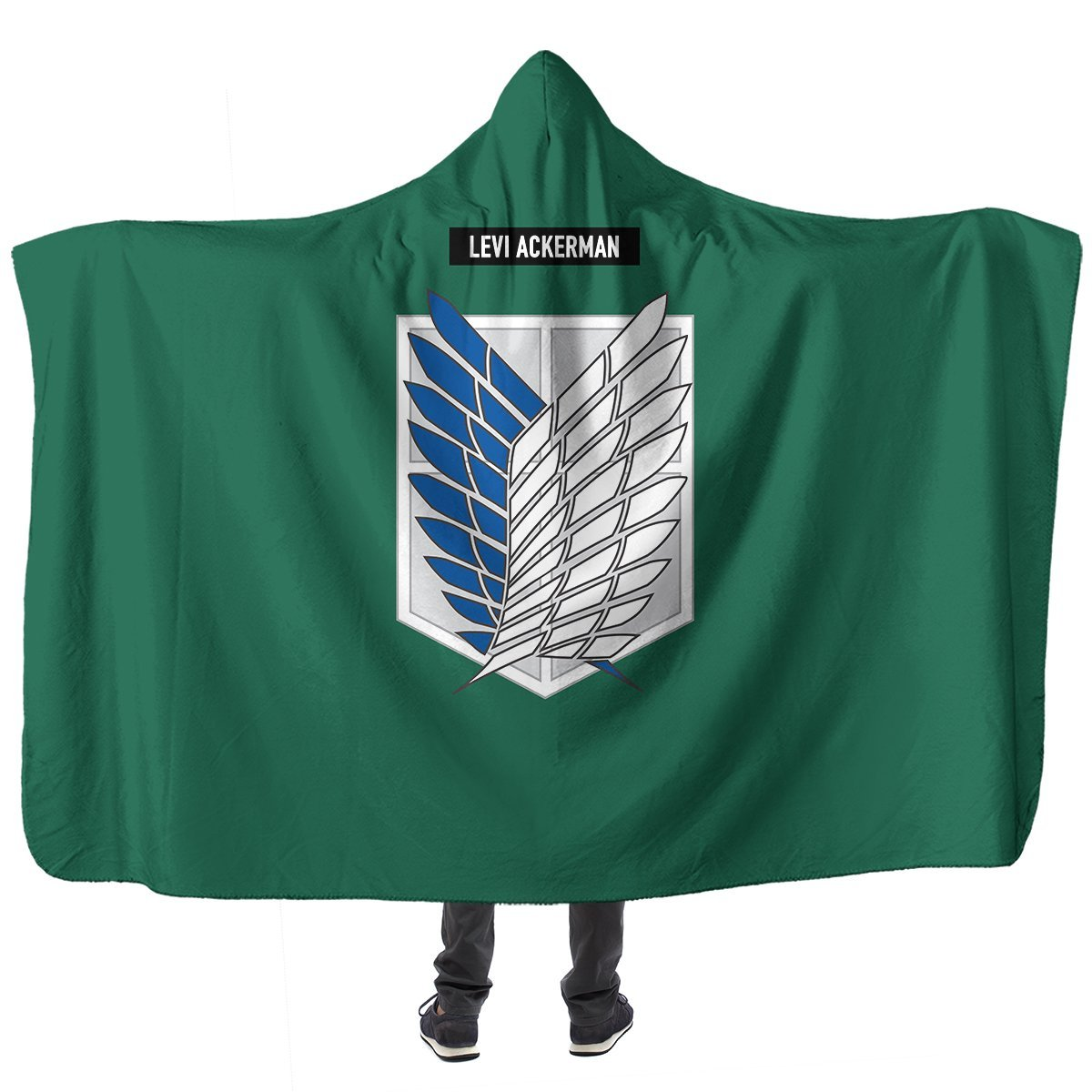Personalized Scouting Legion Hooded Blanket Official Merch FDM3009 Child Official Otaku Treat Merch