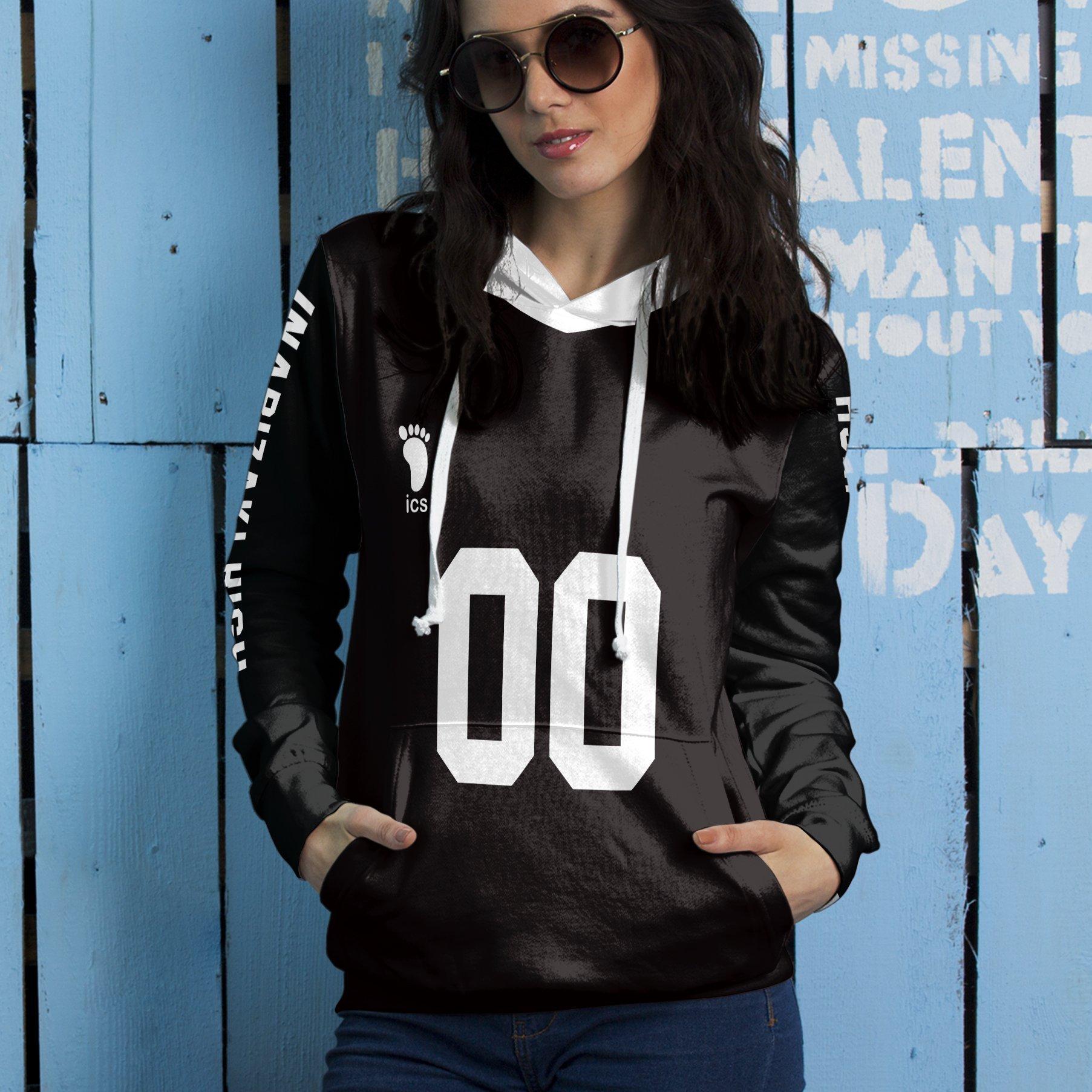personalized team inarizaki unisex pullover hoodie 724138 - Otaku Treat