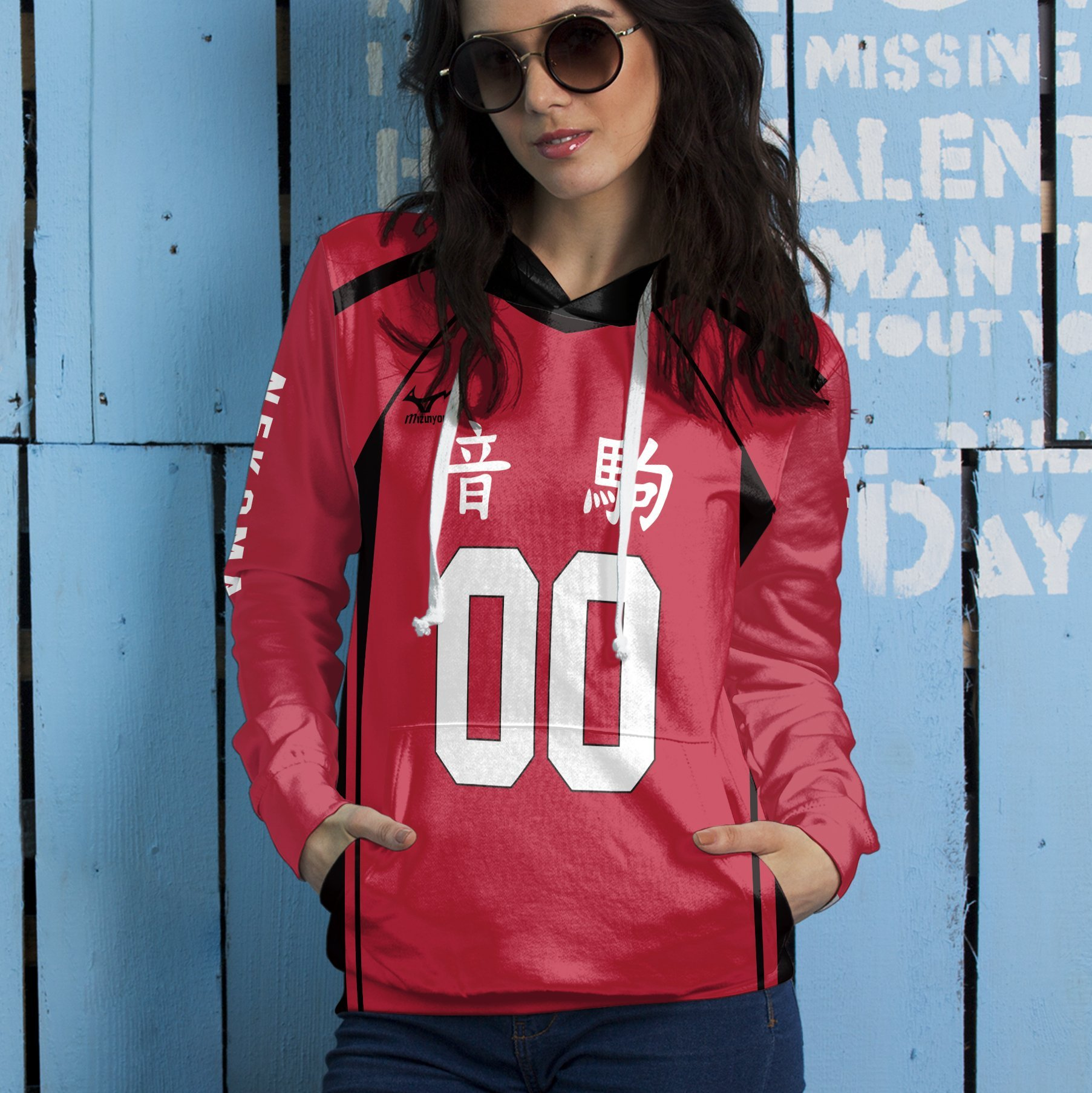 personalized team nekoma unisex pullover hoodie 326864 - Otaku Treat