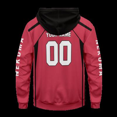 personalized team nekoma unisex pullover hoodie 957389 - Otaku Treat