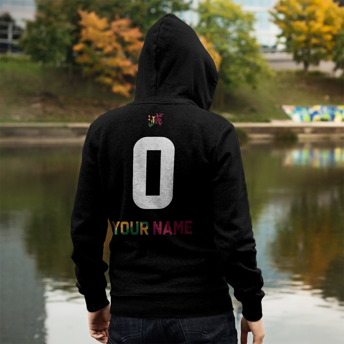 personalized tomioka giyu unisex zipped hoodie 133361 - Otaku Treat