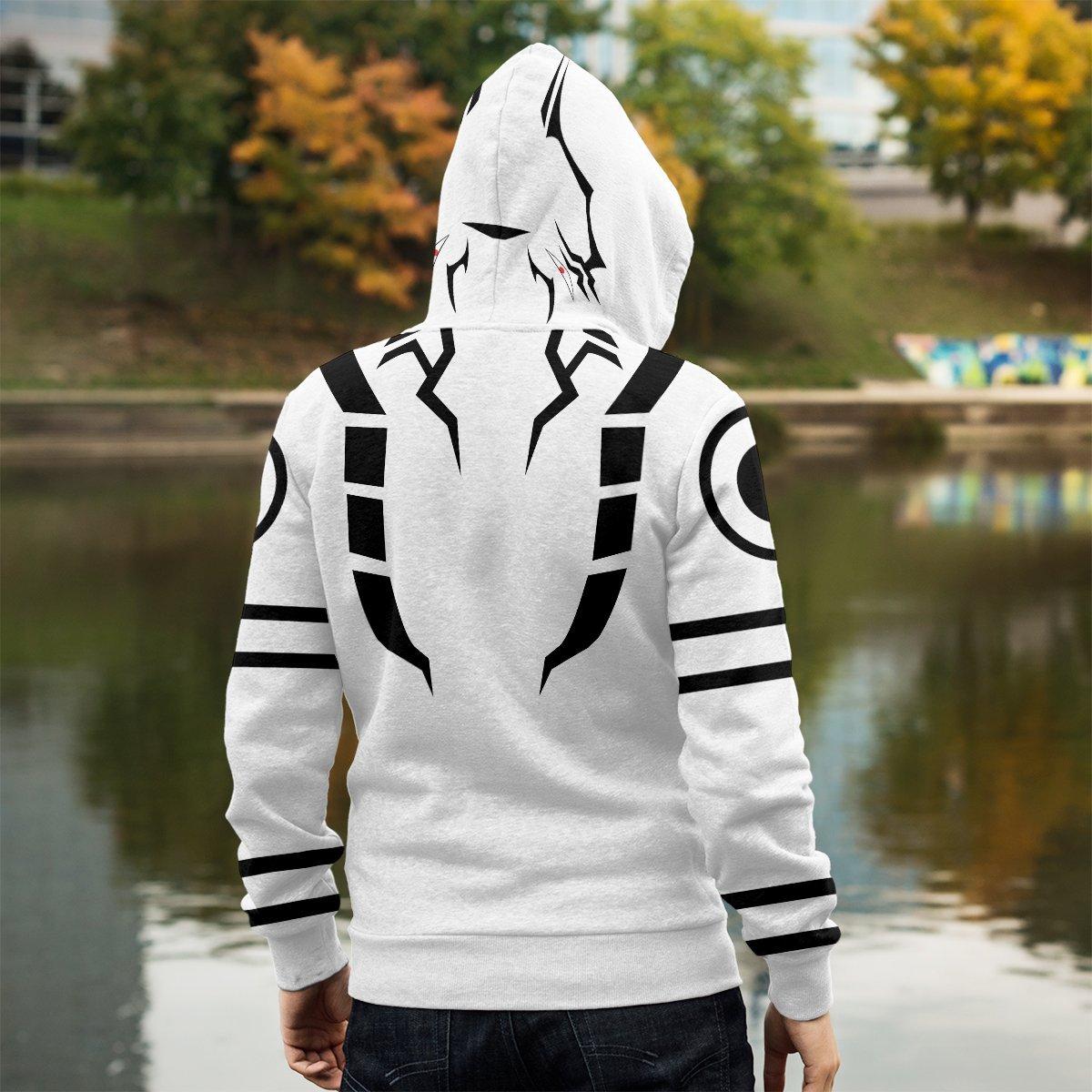 sukuna unisex zipped hoodie 231070 - Otaku Treat