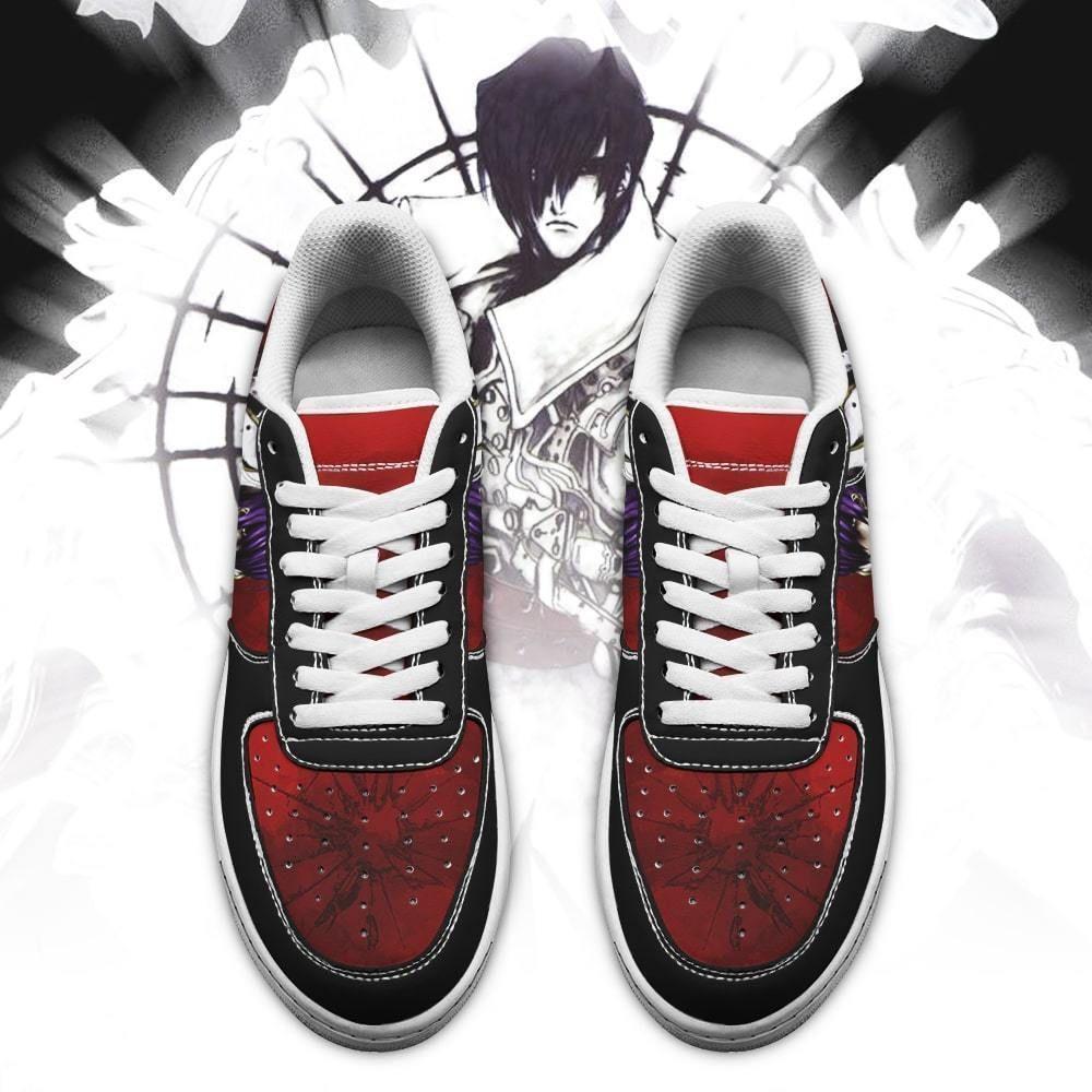 Trigun Shoes Legato Bluesummers Air Shoes Anime Shoes GO1012