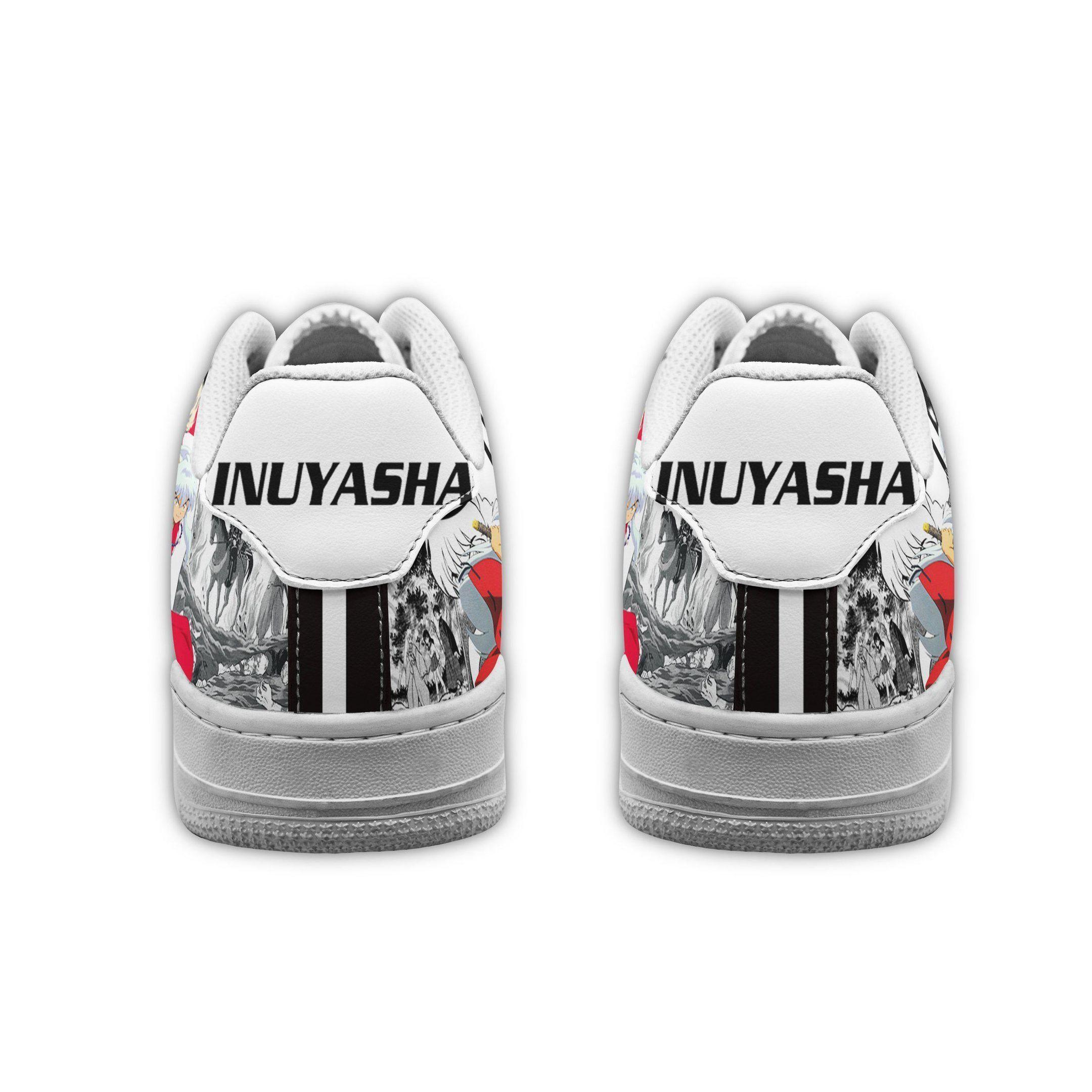 Inuyasha Air Shoes Manga Anime Shoes Fan Gift Idea GO1012