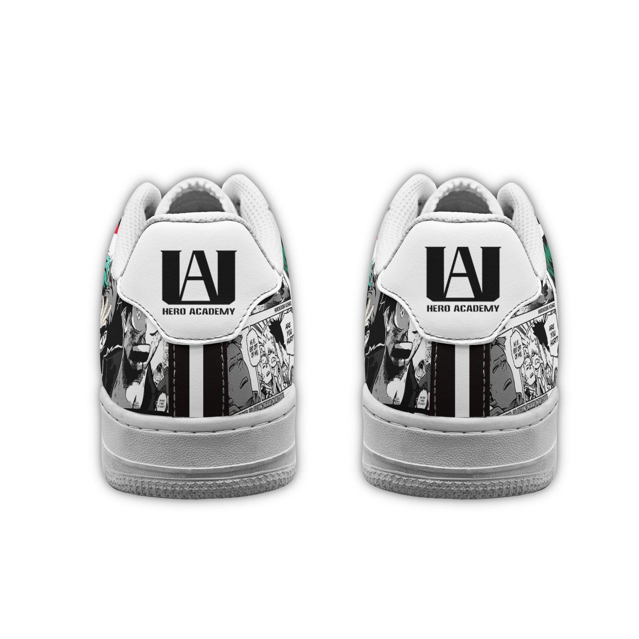 My Hero Academia Air Shoes Manga Mix Anime Shoes Fan Gift Idea GO1012