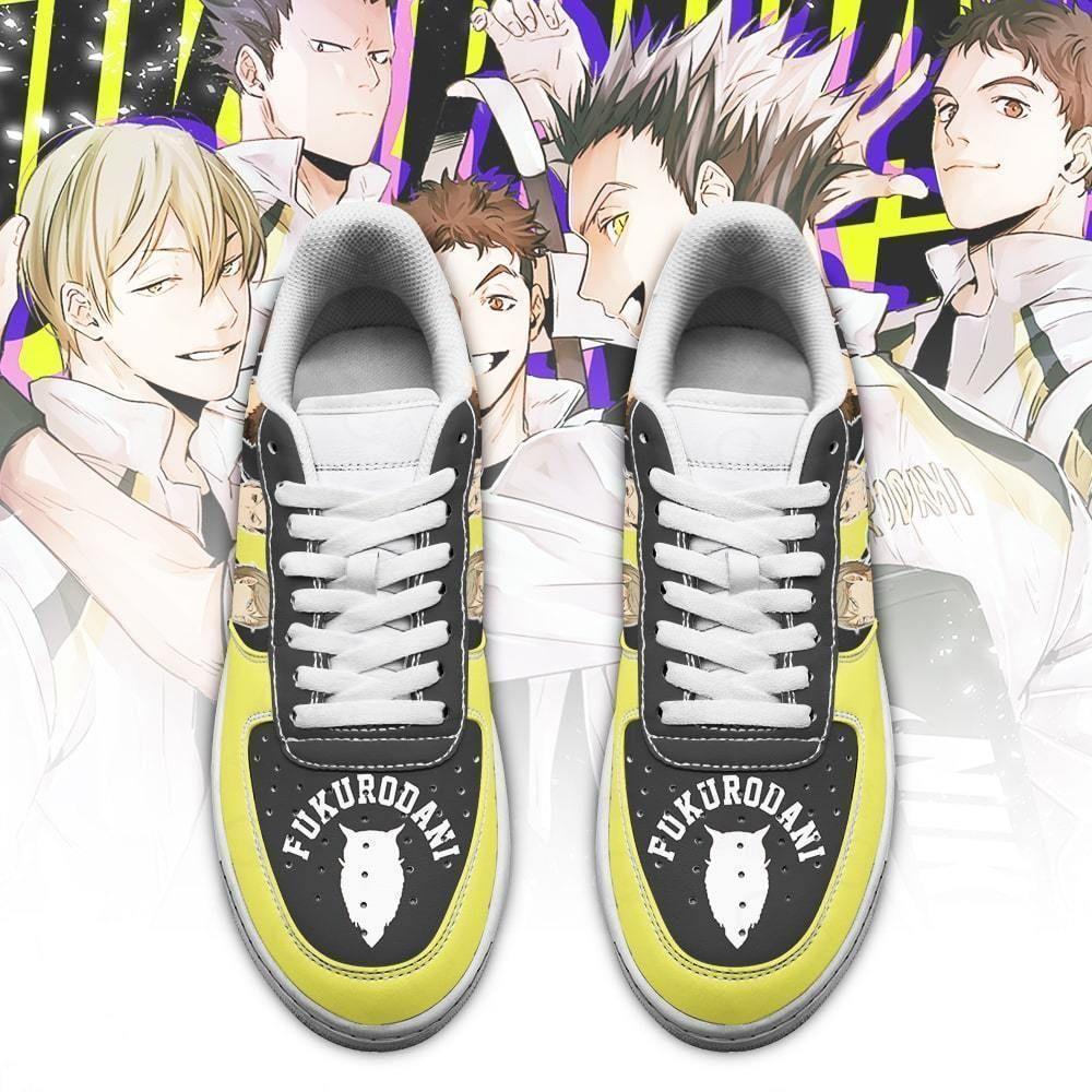 Haikyuu Fukurodani Academy Air Shoes Team Haikyuu Anime Shoes GO1012