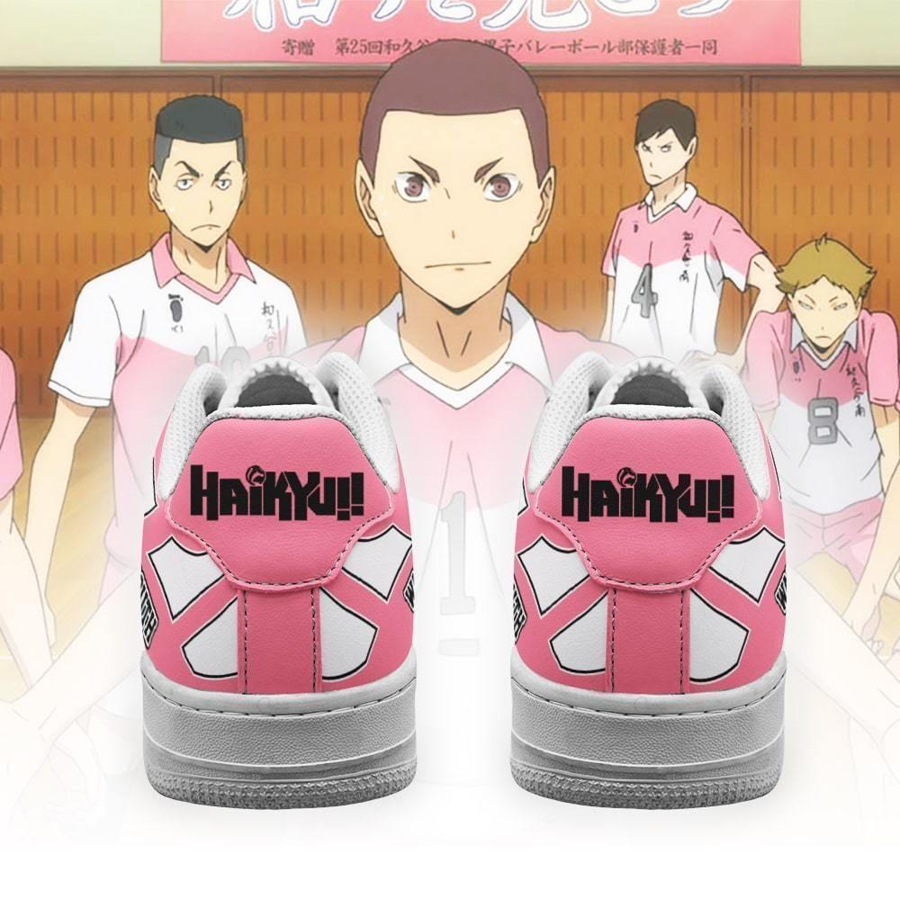 Haikyuu Wakutani South High Air Shoes Haikyuu Anime Shoes GO1012
