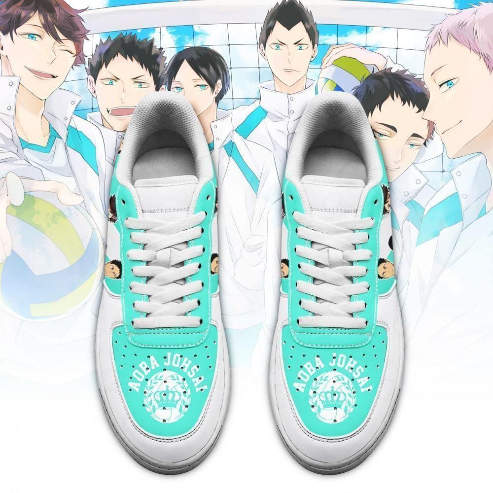 Haikyuu Aobajohsai High Air Shoes Team Haikyuu Anime Shoes GO1012