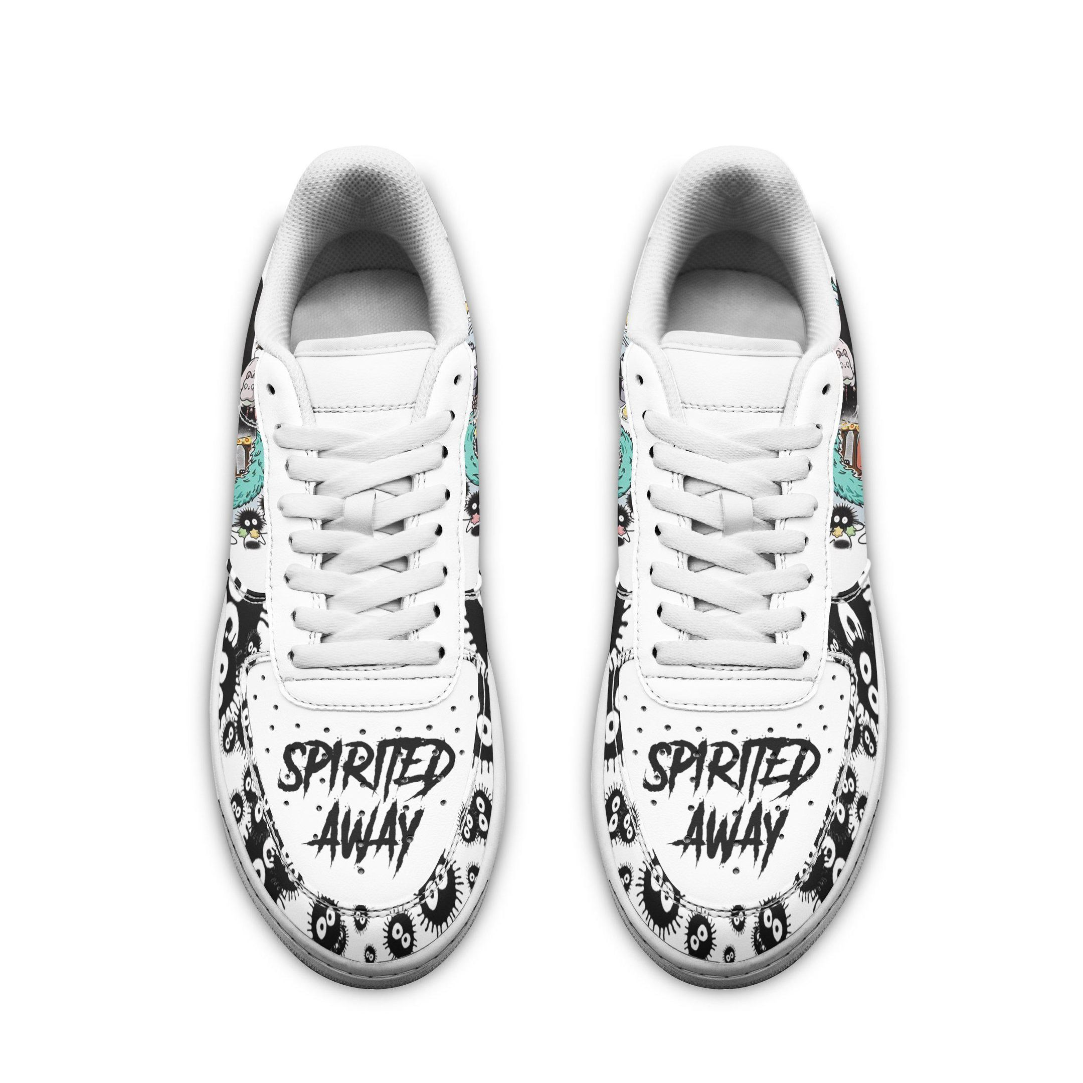 No Face Chichiro Air Shoes Spirited Away Anime Shoes Fan Gift GO1012
