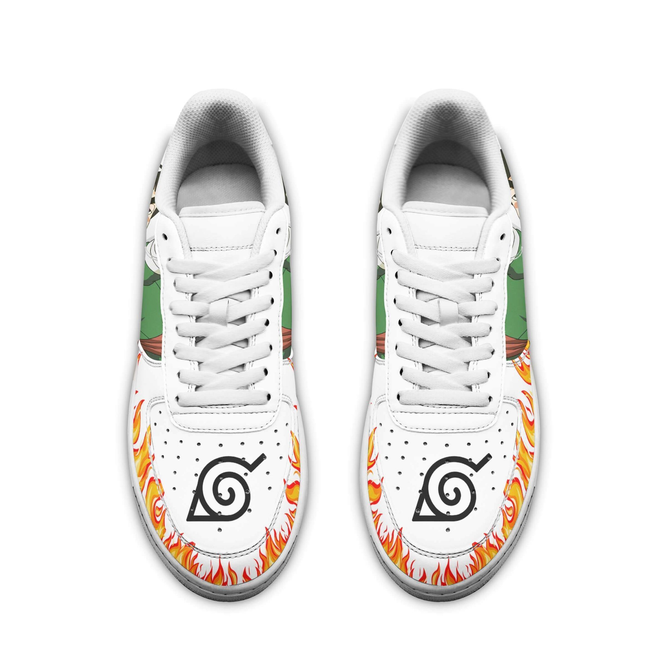 Rock Lee Air Shoes Naruto Anime Shoes Fan Gift GO1012