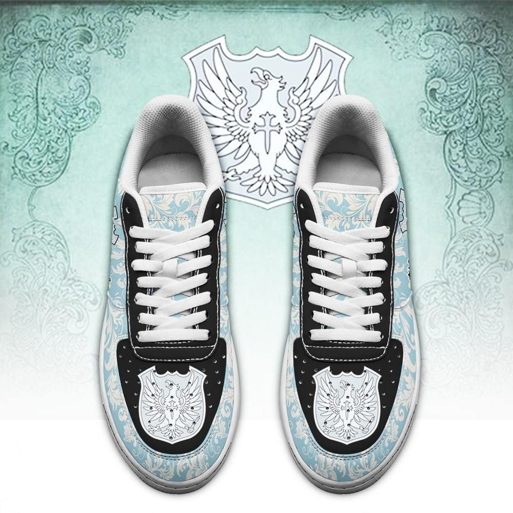Black Clover Shoes Magic Knights Squad Silver Eagle Air Shoes Anime GO1012