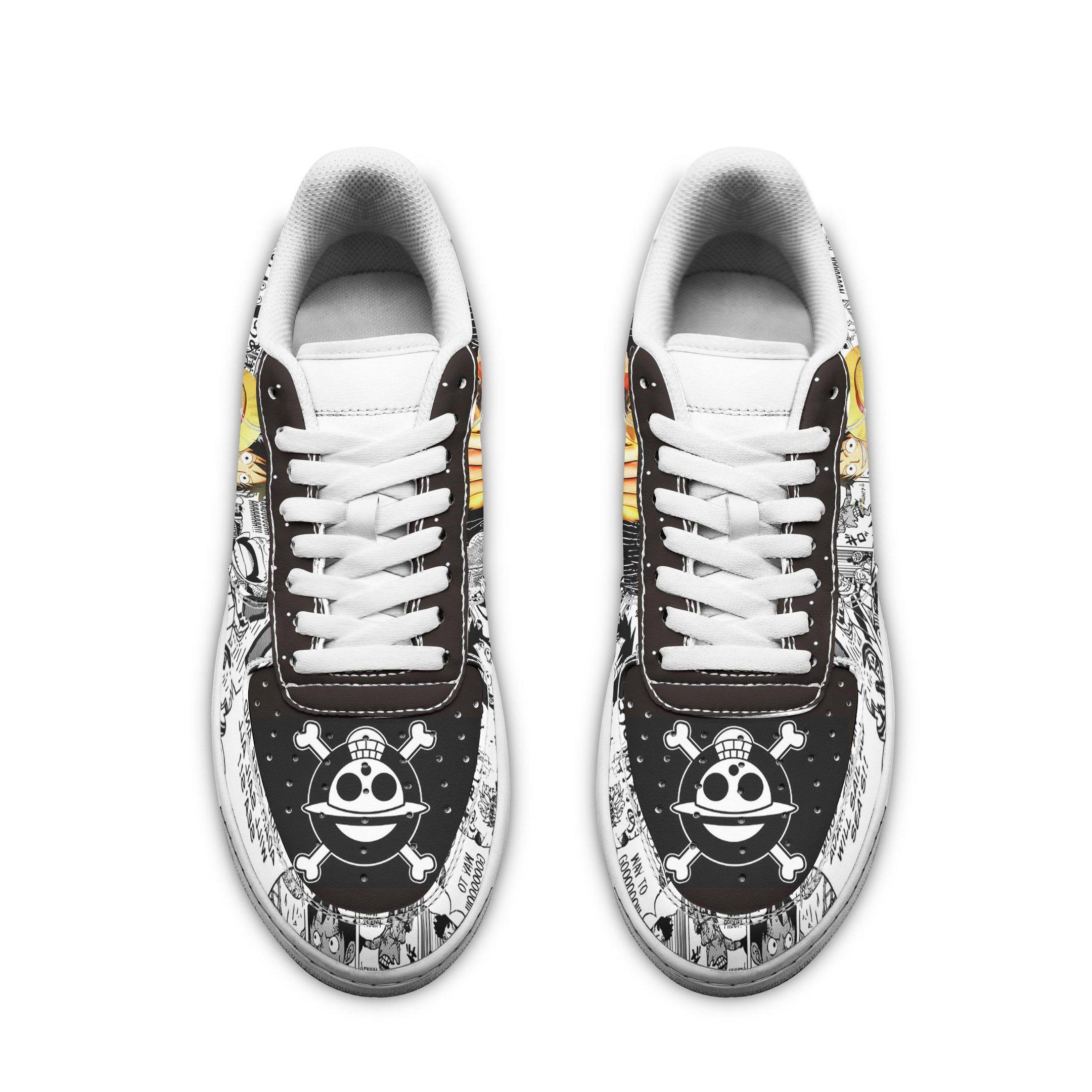 One Piece Air Shoes Manga Anime Shoes Fan Gift Idea GO1012