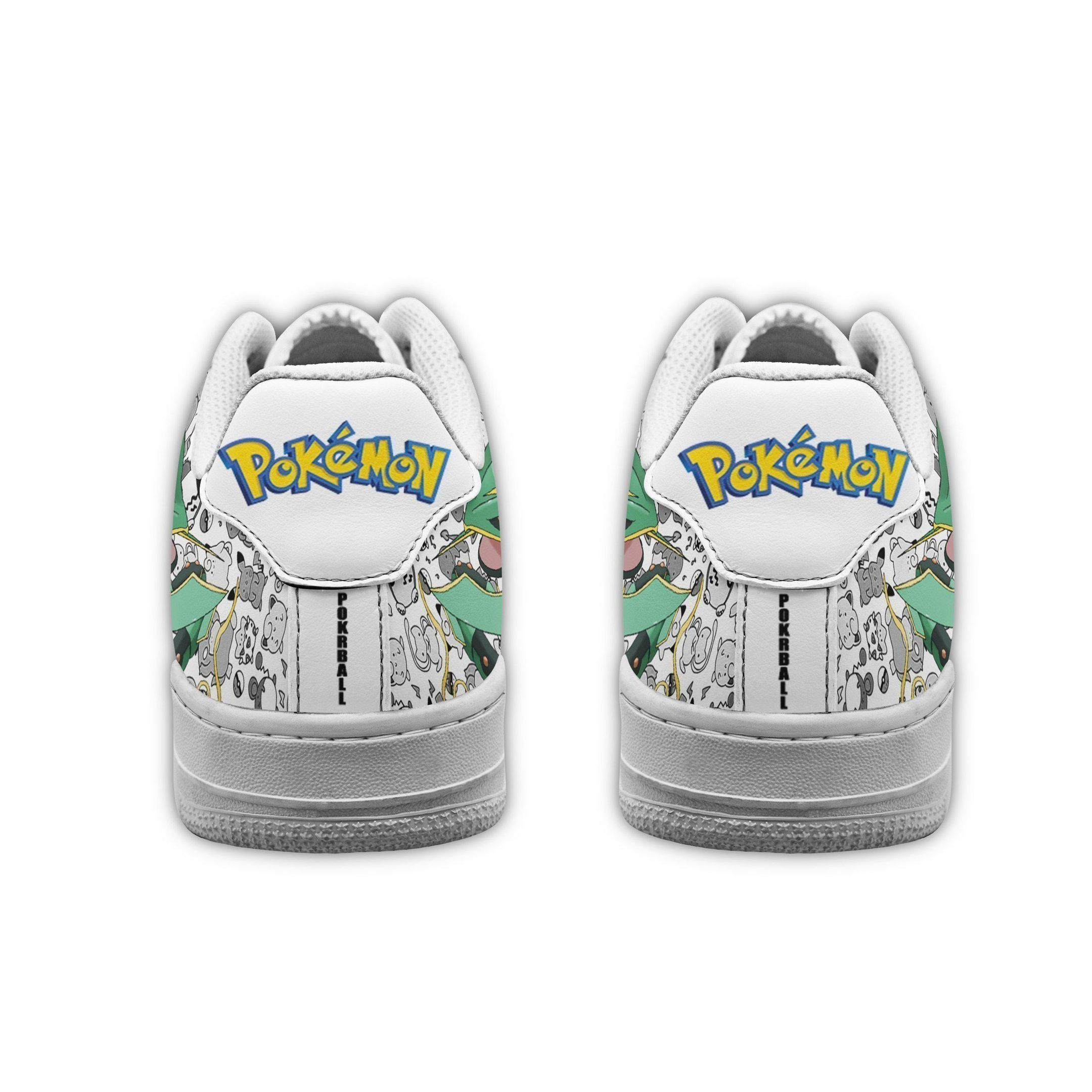 Rayquaza Air Shoes Pokemon Shoes Fan Gift Idea GO1012