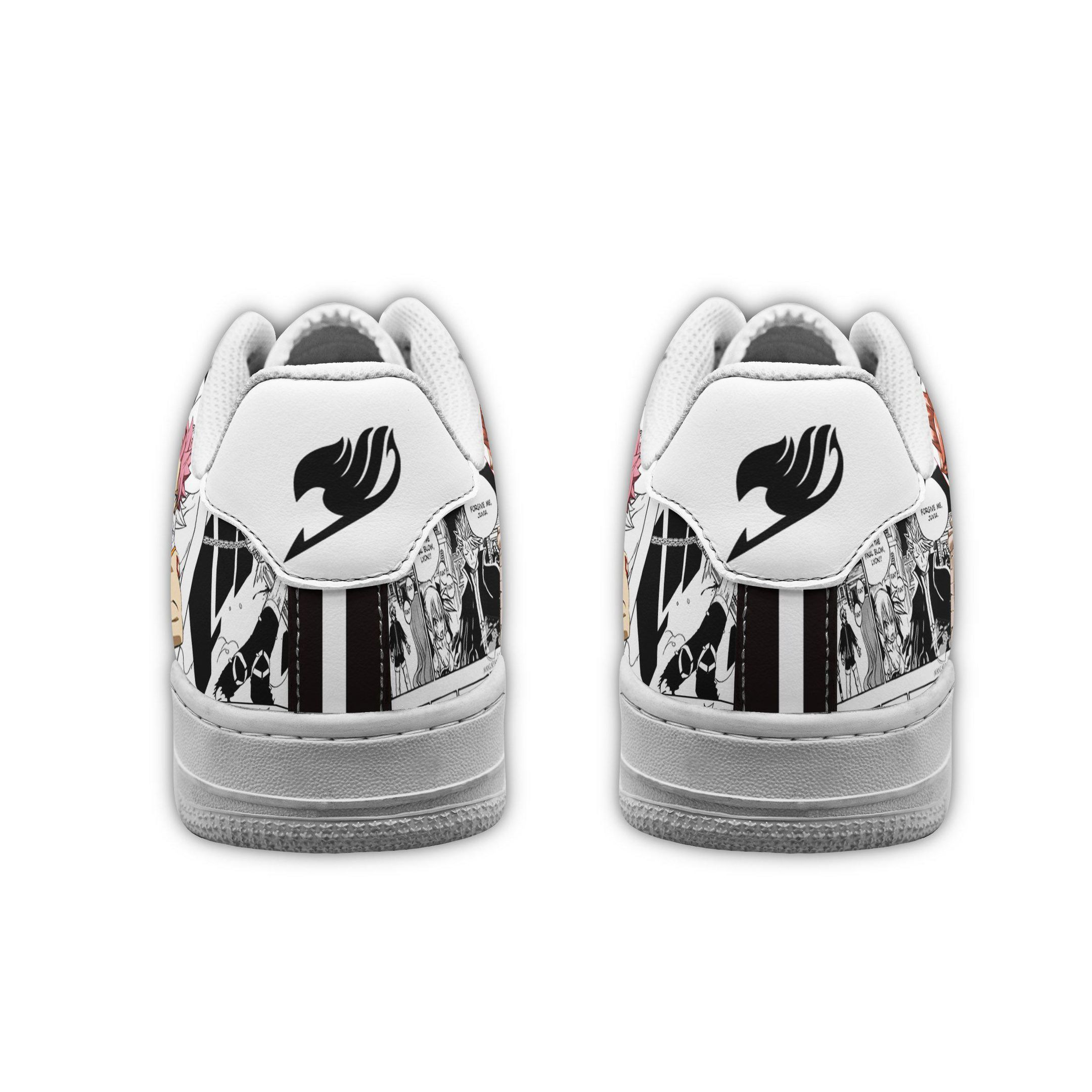 Fairy Tail Air Shoes Manga Anime Shoes Fan Gift Idea GO1012