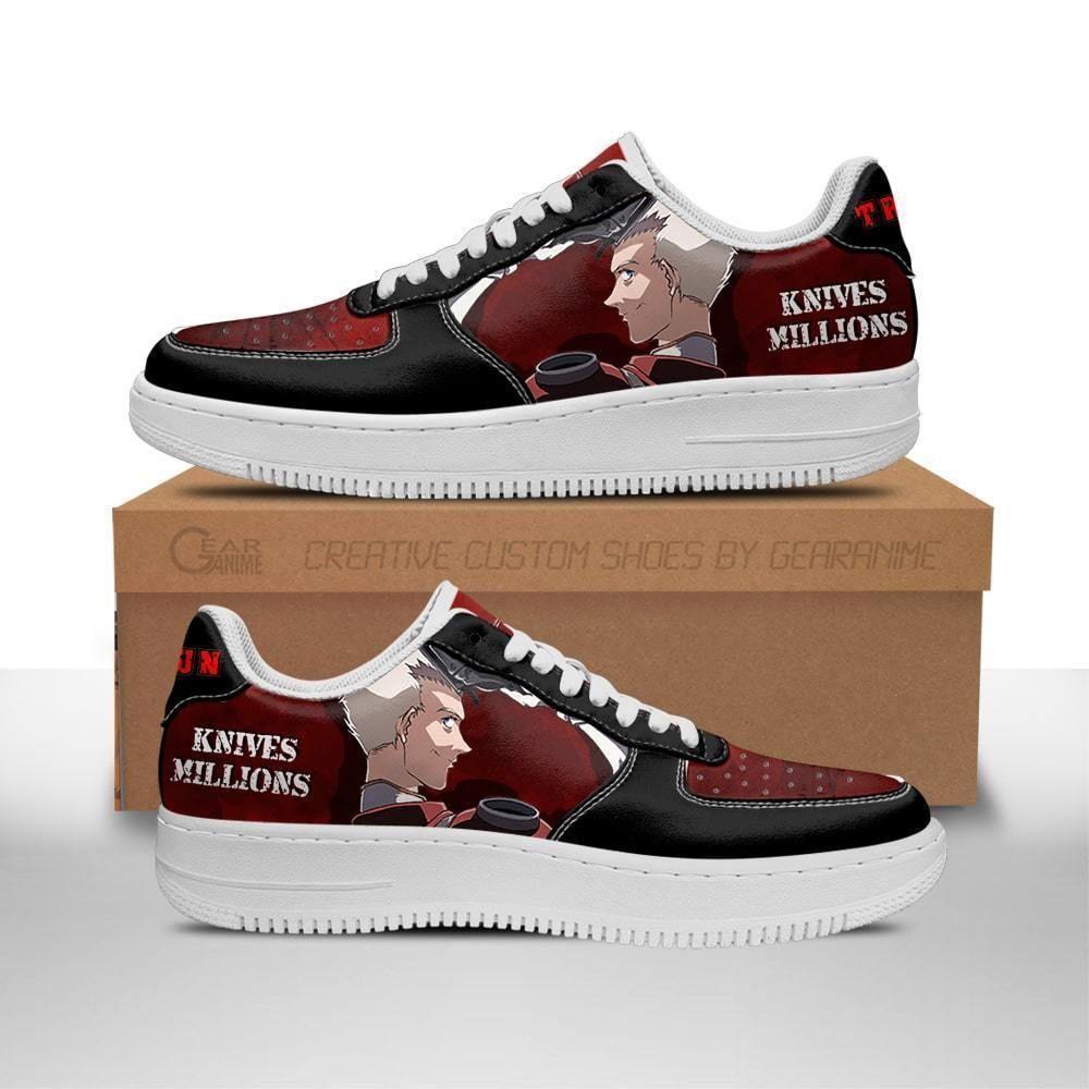 Trigun Shoes Knives Millions Air Shoes Anime Shoes GO1012