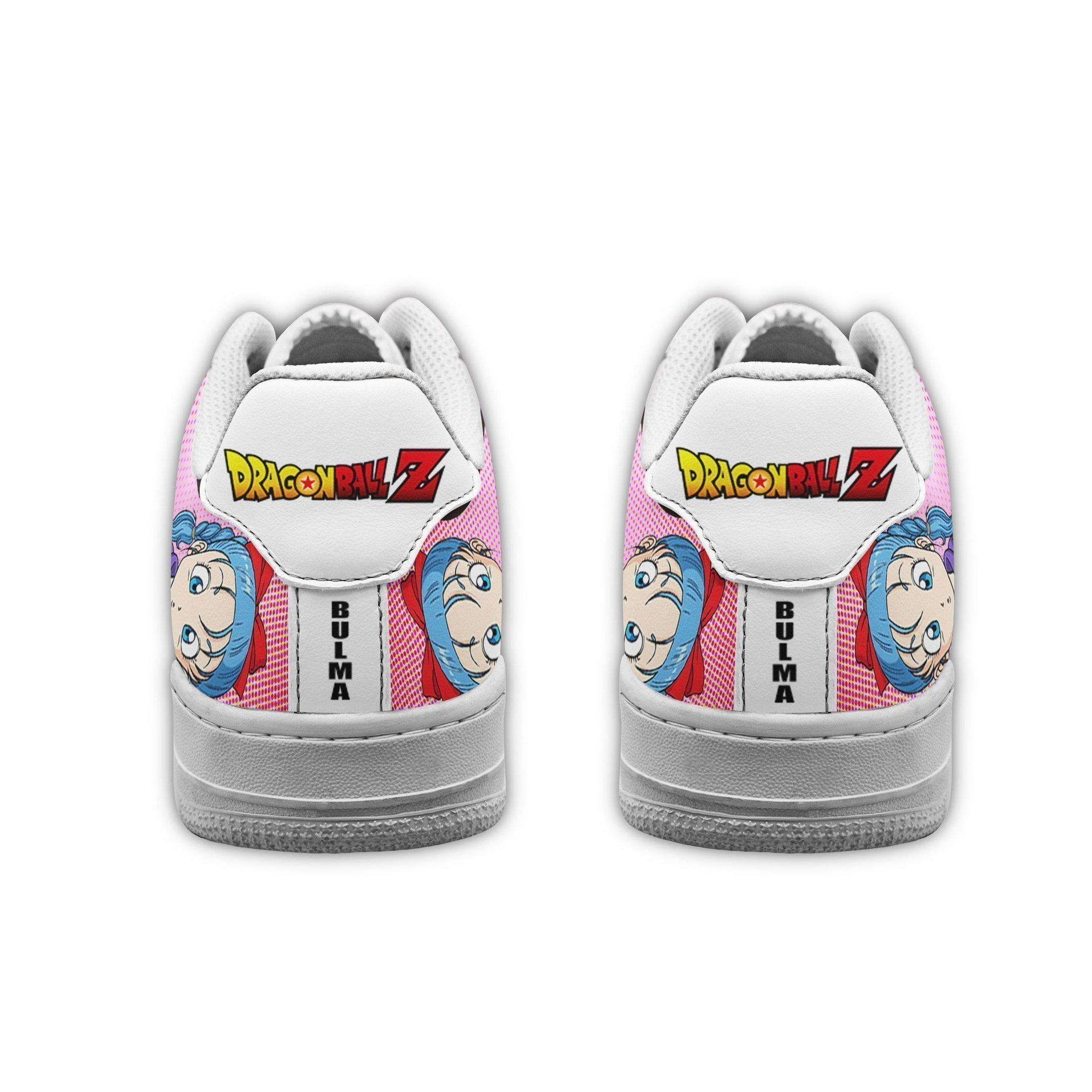 Bulma Air Shoes Dragon Ball Z Anime Shoes Fan Gift GO1012
