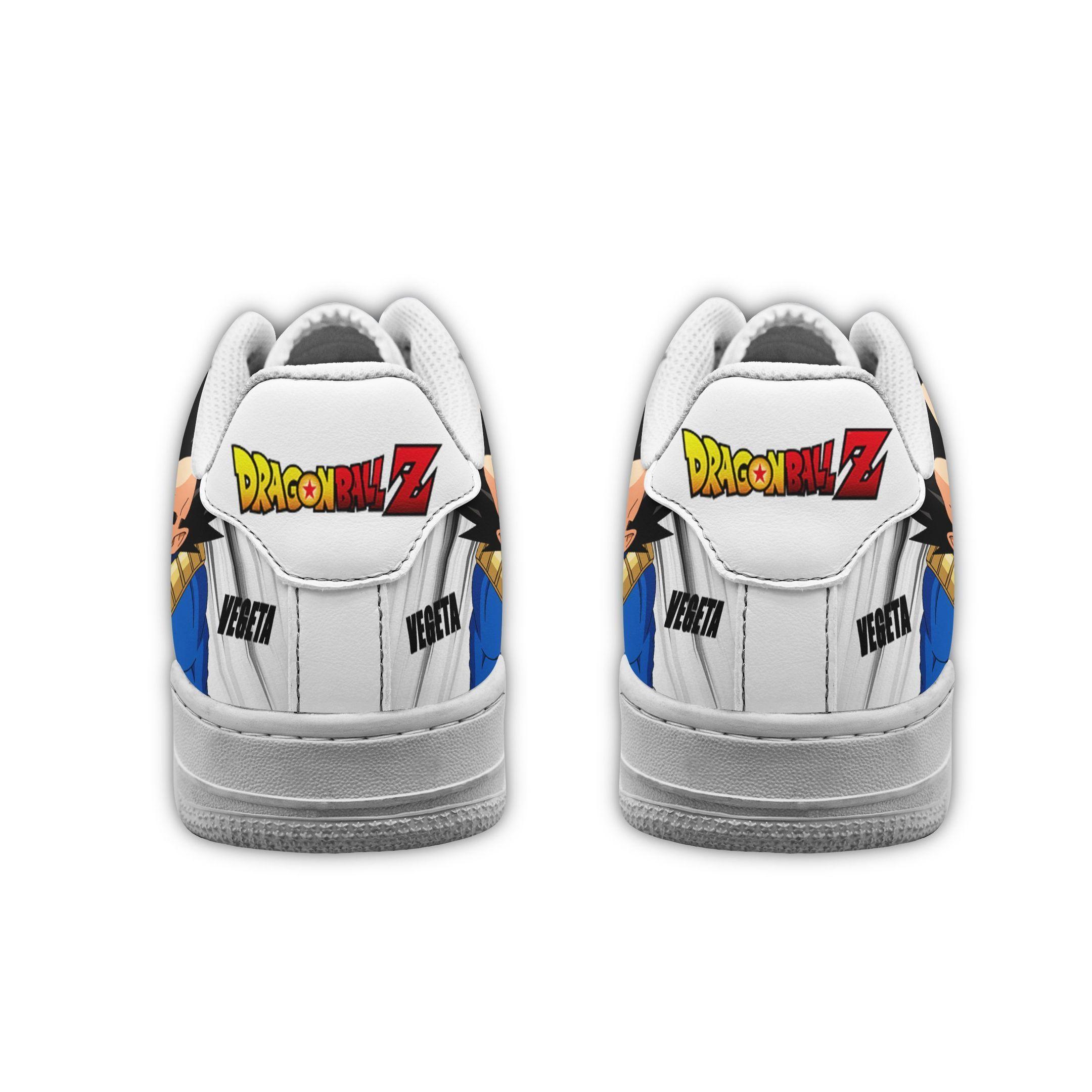 Vegeta Air Shoes Custom Dragon Ball Z Anime Shoes GO1012