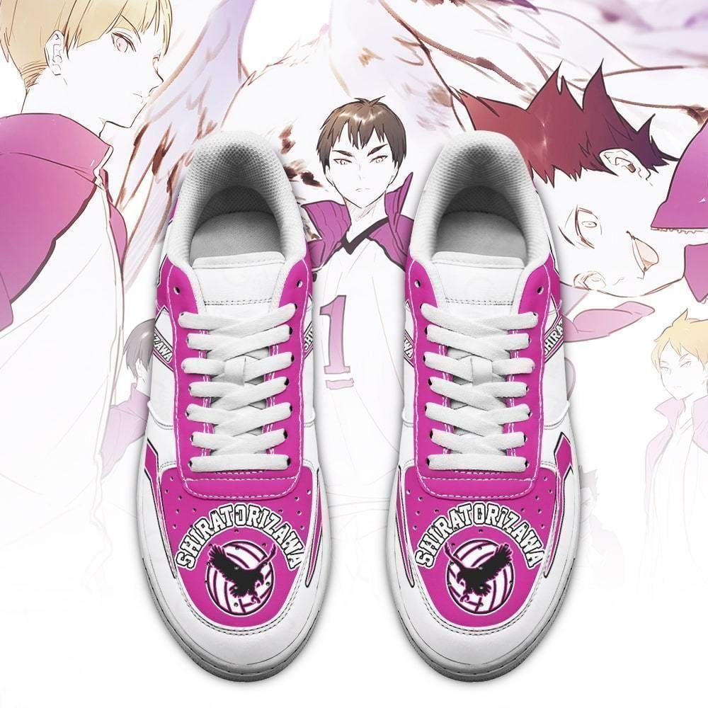 Haikyuu Shiratorizawa Academy Air Shoes Uniform Haikyuu Anime Shoes GO1012