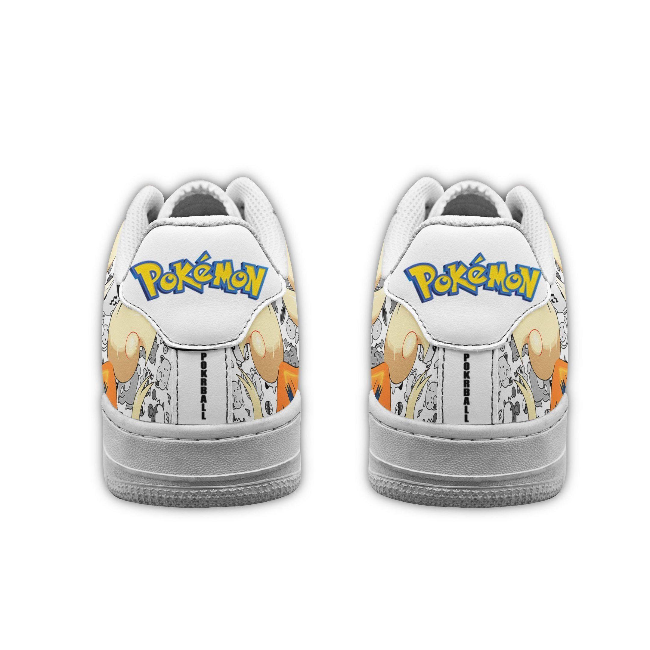 Arcanine Air Shoes Pokemon Shoes Fan Gift Idea GO1012