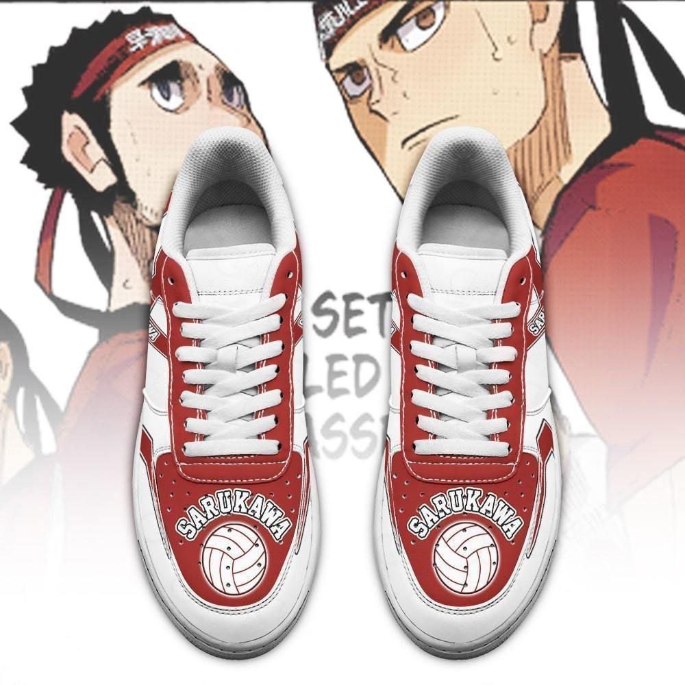 Haikyuu Sarukawa Tech High Air Shoes Uniform Haikyuu Anime Shoes GO1012