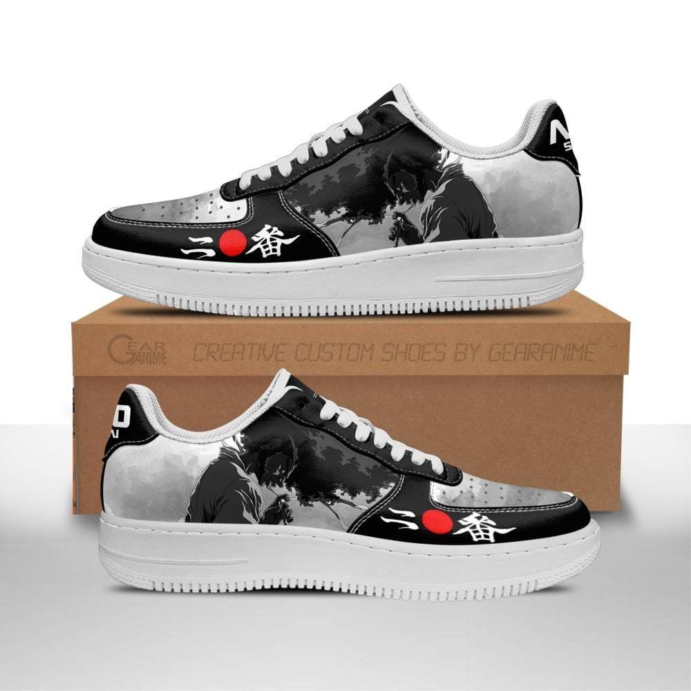 Ninja Ninja Air Shoes Afro Samurai Anime Shoes Fan Gift Idea GO1012