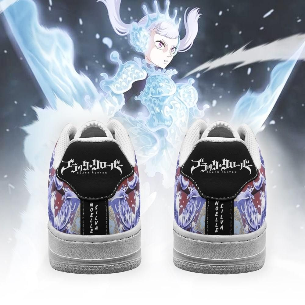 Noelle Silva Air Shoes Black Bull Knight Black Clover Anime Shoes GO1012