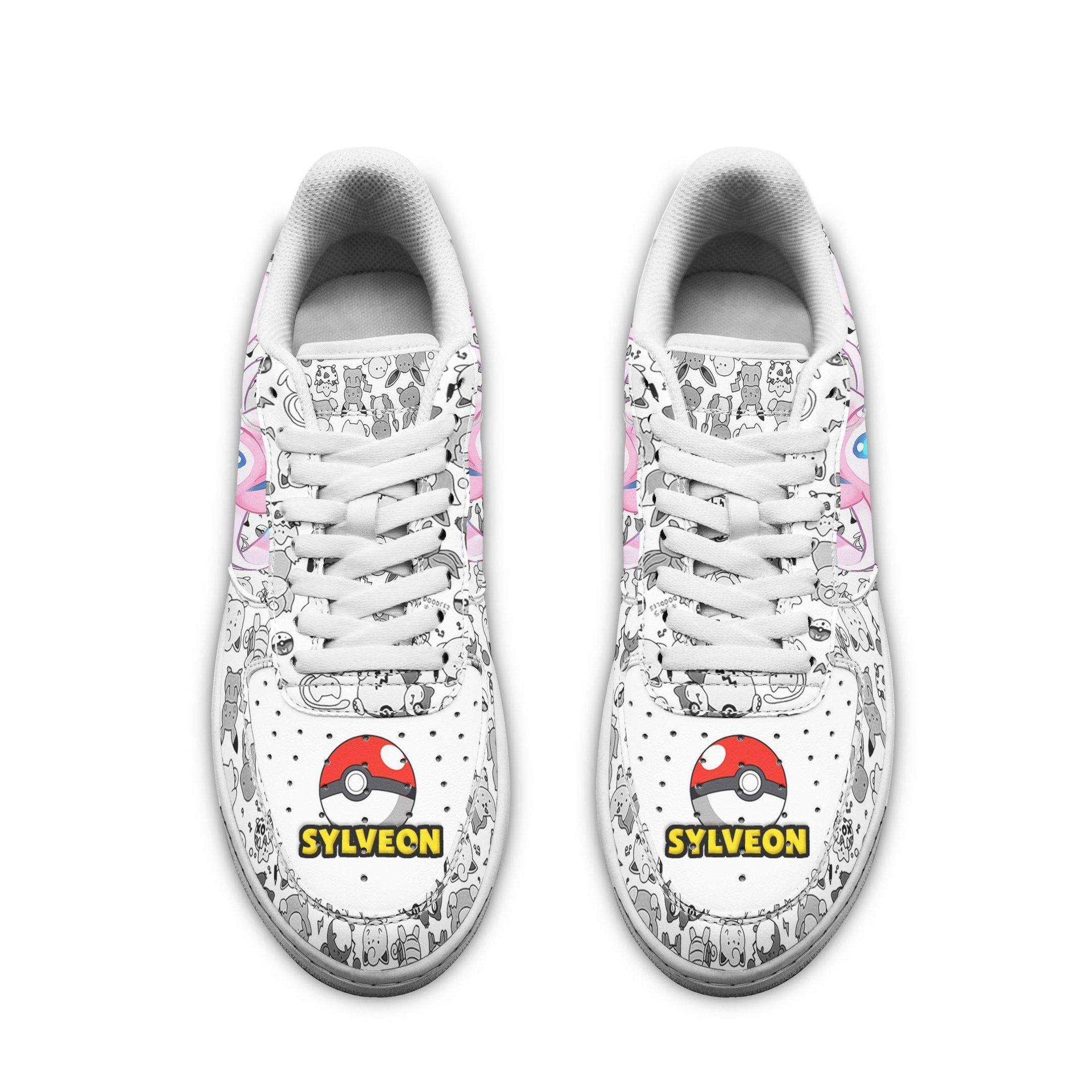 Sylveon Air Shoes Pokemon Shoes Fan Gift Idea GO1012