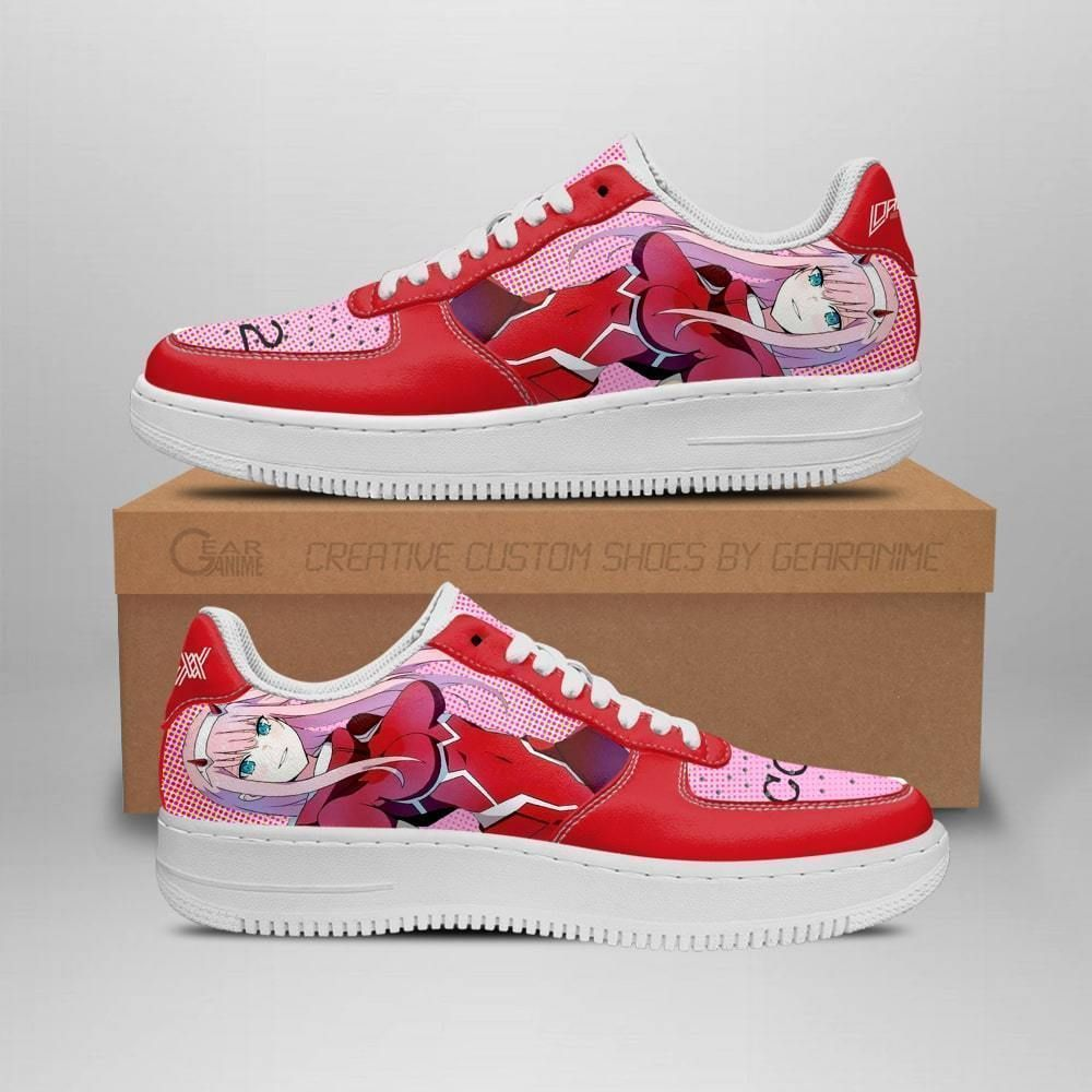 Code 002 Darling In The Franxx Shoes Zero Two Air Shoes Anime Shoes GO1012